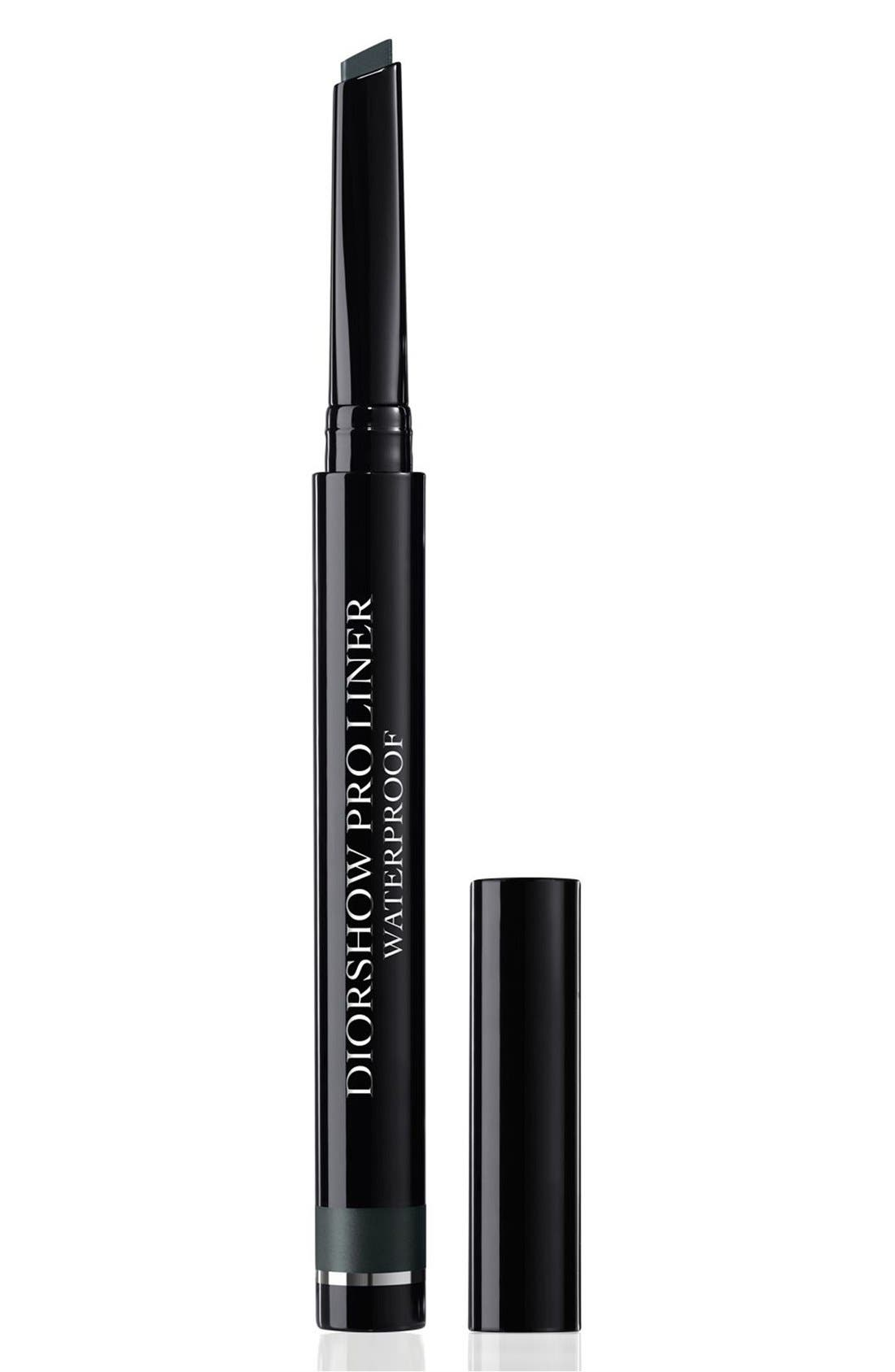 DIOR, Diorshow Waterproof Pro Liner, Main thumbnail 1, color, 082 PRO ANTHRACITE