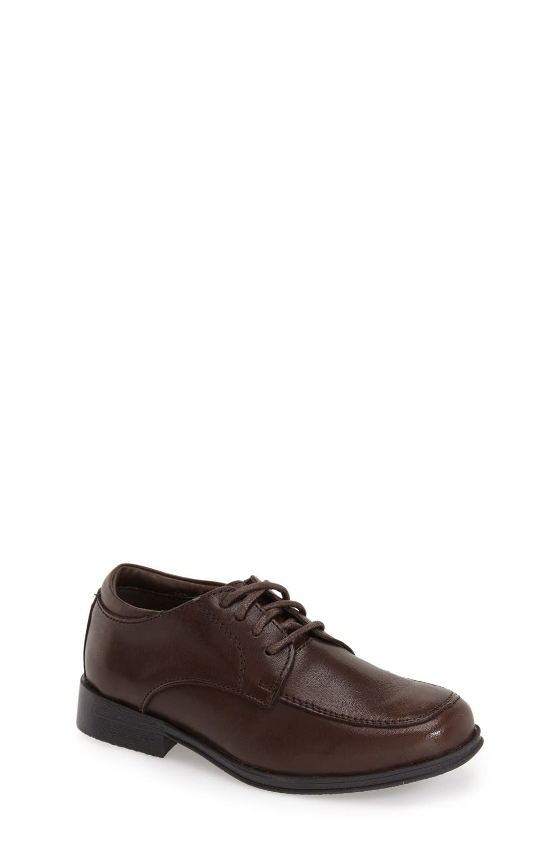 REACTION KENNETH COLE, Kid Club Loafer, Main thumbnail 1, color, DARK BROWN