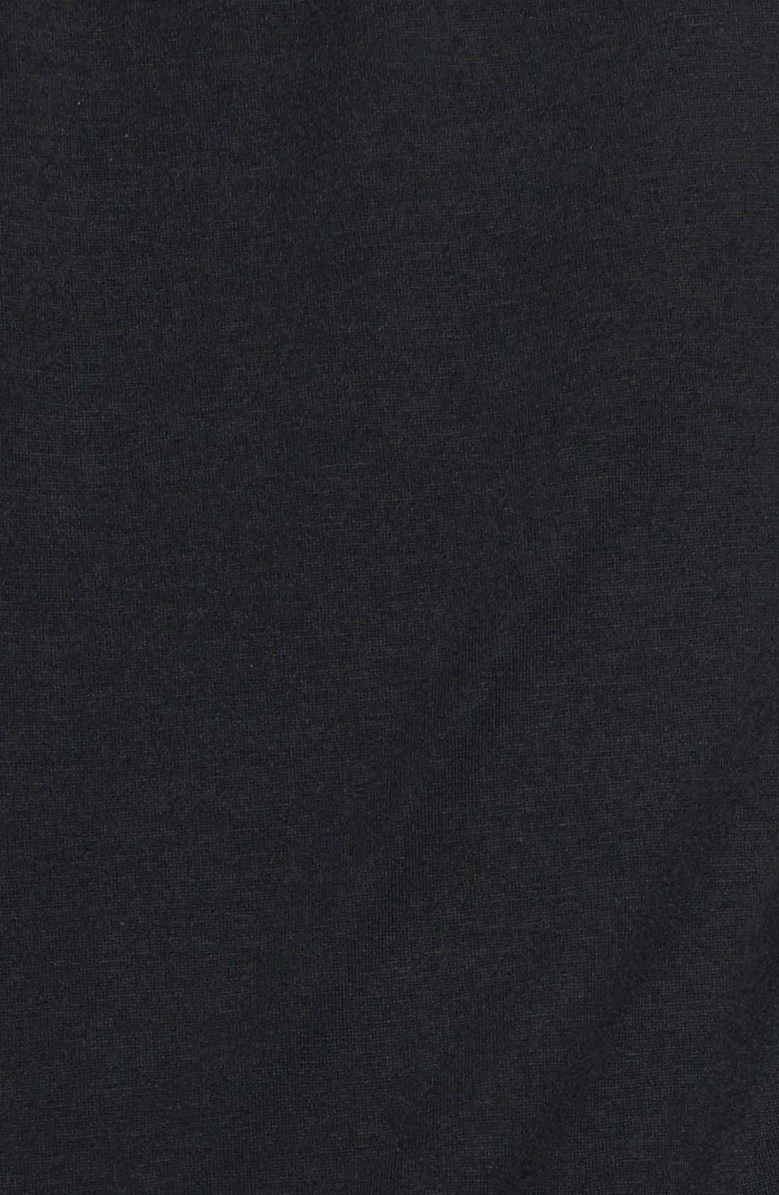 TART, 'Valerie' Strapless Blouson Jersey Jumpsuit, Alternate thumbnail 2, color, 001
