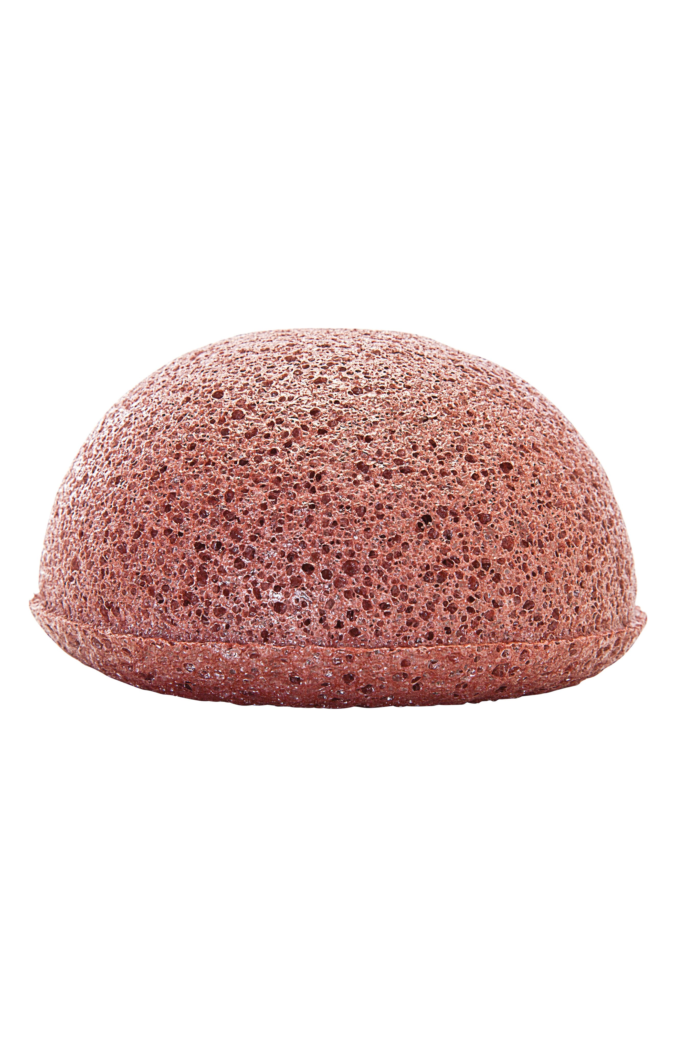 BOSCIA Konjac Cleansing Sponge with Deep Hydrating Clay, Main, color, NO COLOR