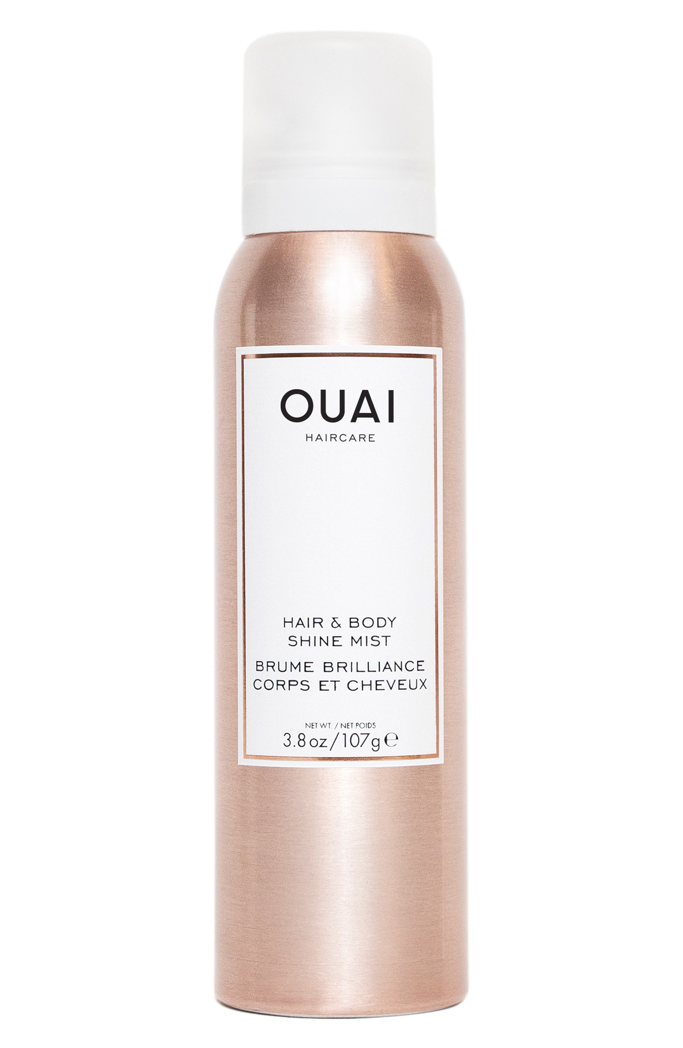 OUAI, Hair & Body Shine Mist, Main thumbnail 1, color, NO COLOR