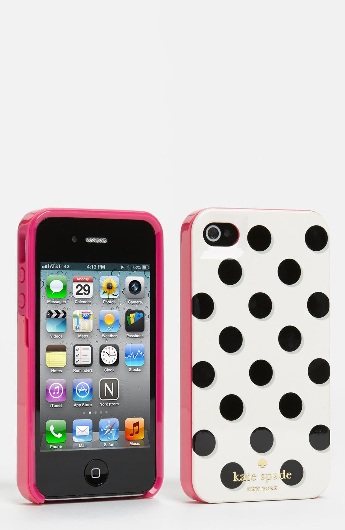 KATE SPADE NEW YORK, iPhone 4 & 4S case, Main thumbnail 1, color, 100