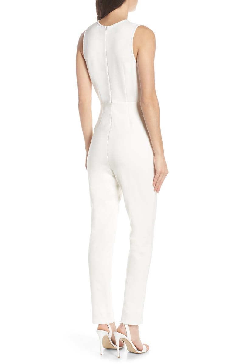 b9b0825d175 French Connection Sundae Lula Sleeveless Jumpsuit In Summer White ...