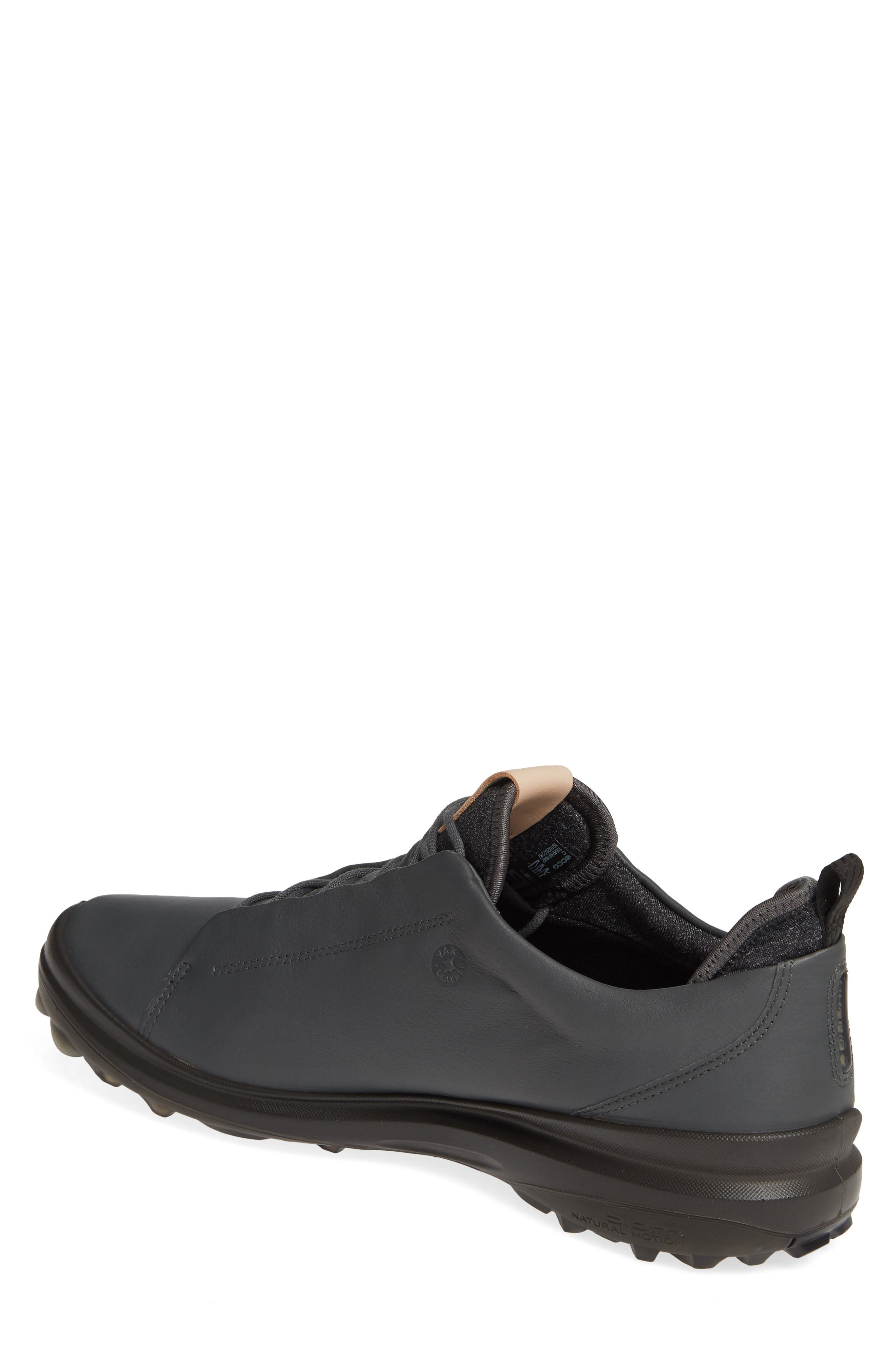 ECCO, BIOM<sup>®</sup> Hybrid 3 OL Gore-Tex<sup>®</sup> Golf Shoe, Alternate thumbnail 2, color, DARK SHADOW LEATHER