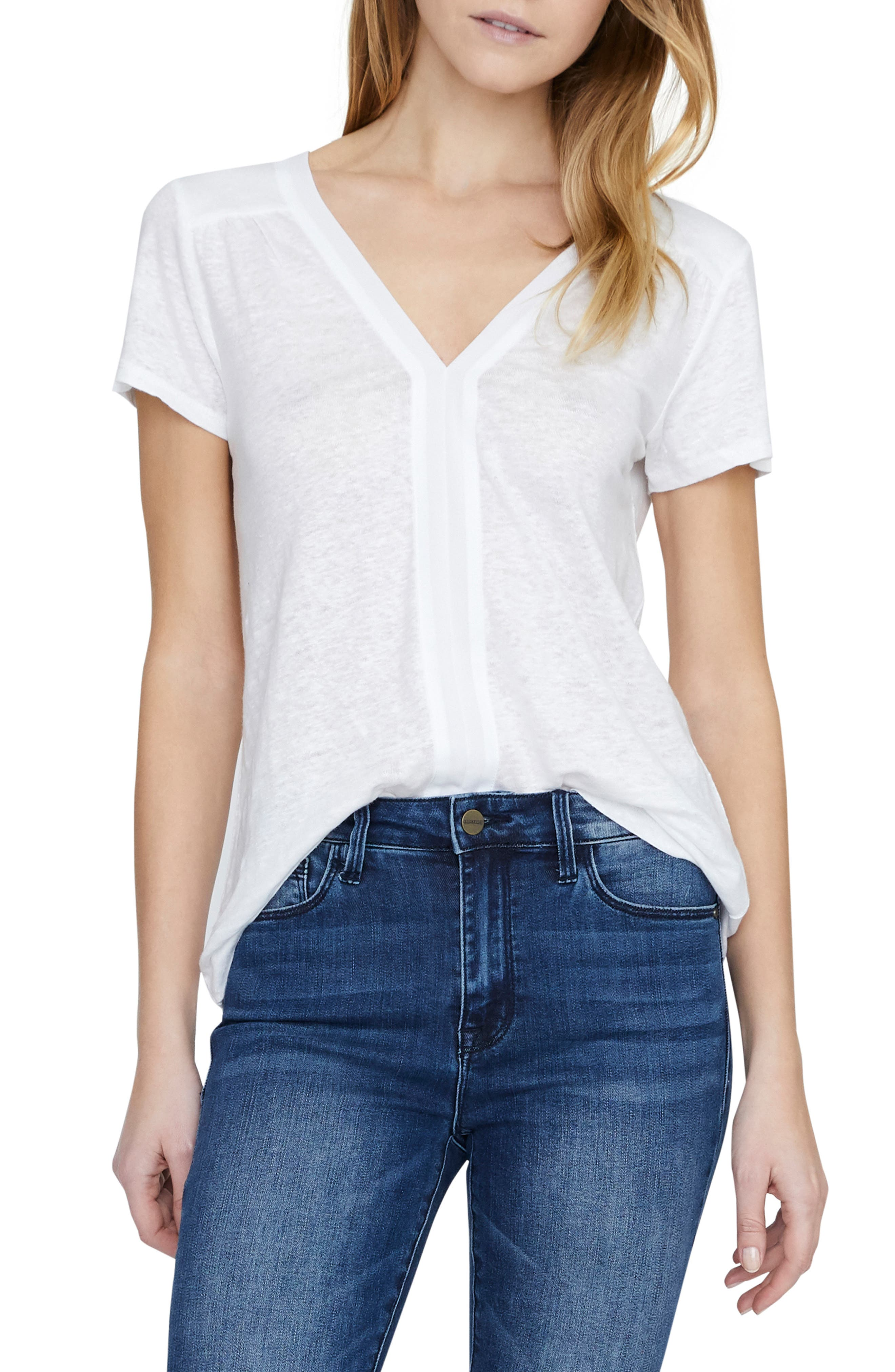 SANCTUARY Countryside Remix Tee, Main, color, WHITE