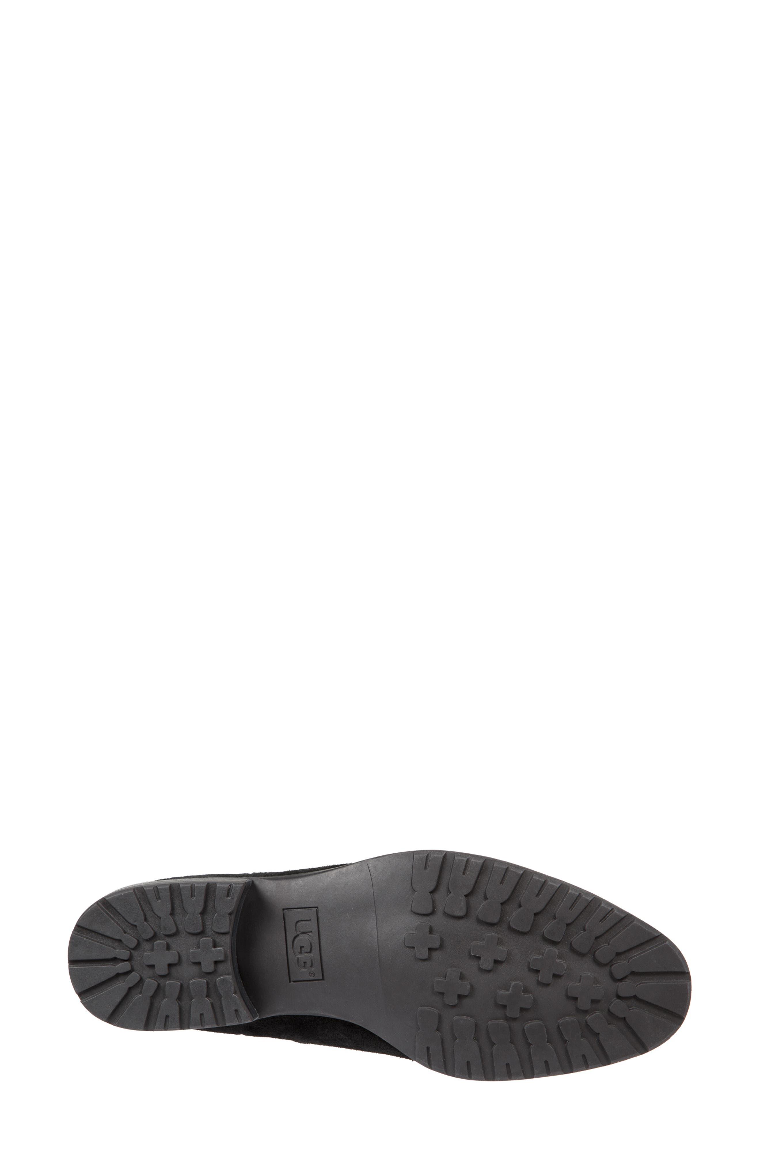 UGG<SUP>®</SUP>, Hillhurst Chelsea Boot, Alternate thumbnail 5, color, 001