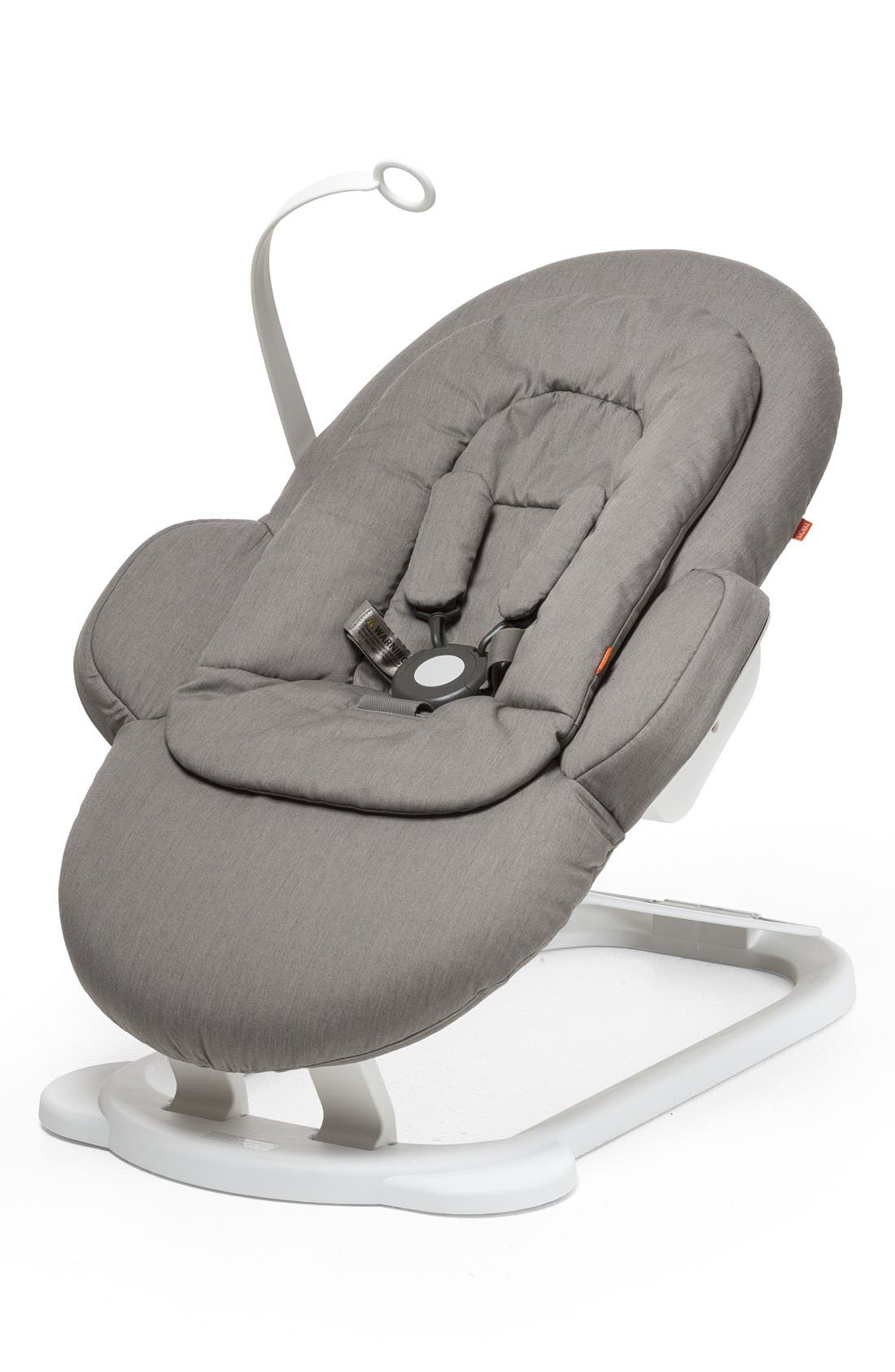 STOKKE, 'Steps<sup>™</sup>' Bouncer, Main thumbnail 1, color, GREIGE