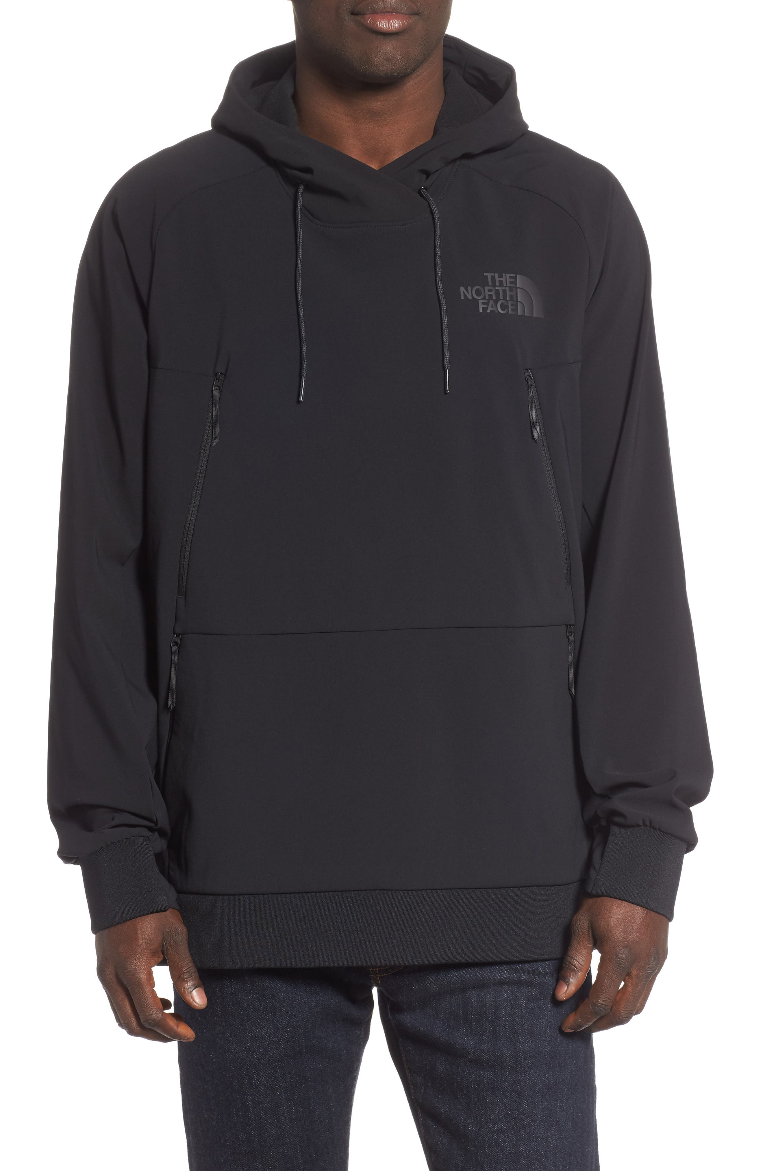 THE NORTH FACE Tekno Pullover Hoodie, Main, color, 001
