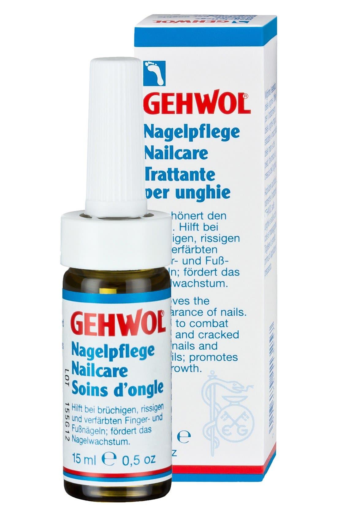 GEHWOL,  Nail Care Oil, Main thumbnail 1, color, NO COLOR
