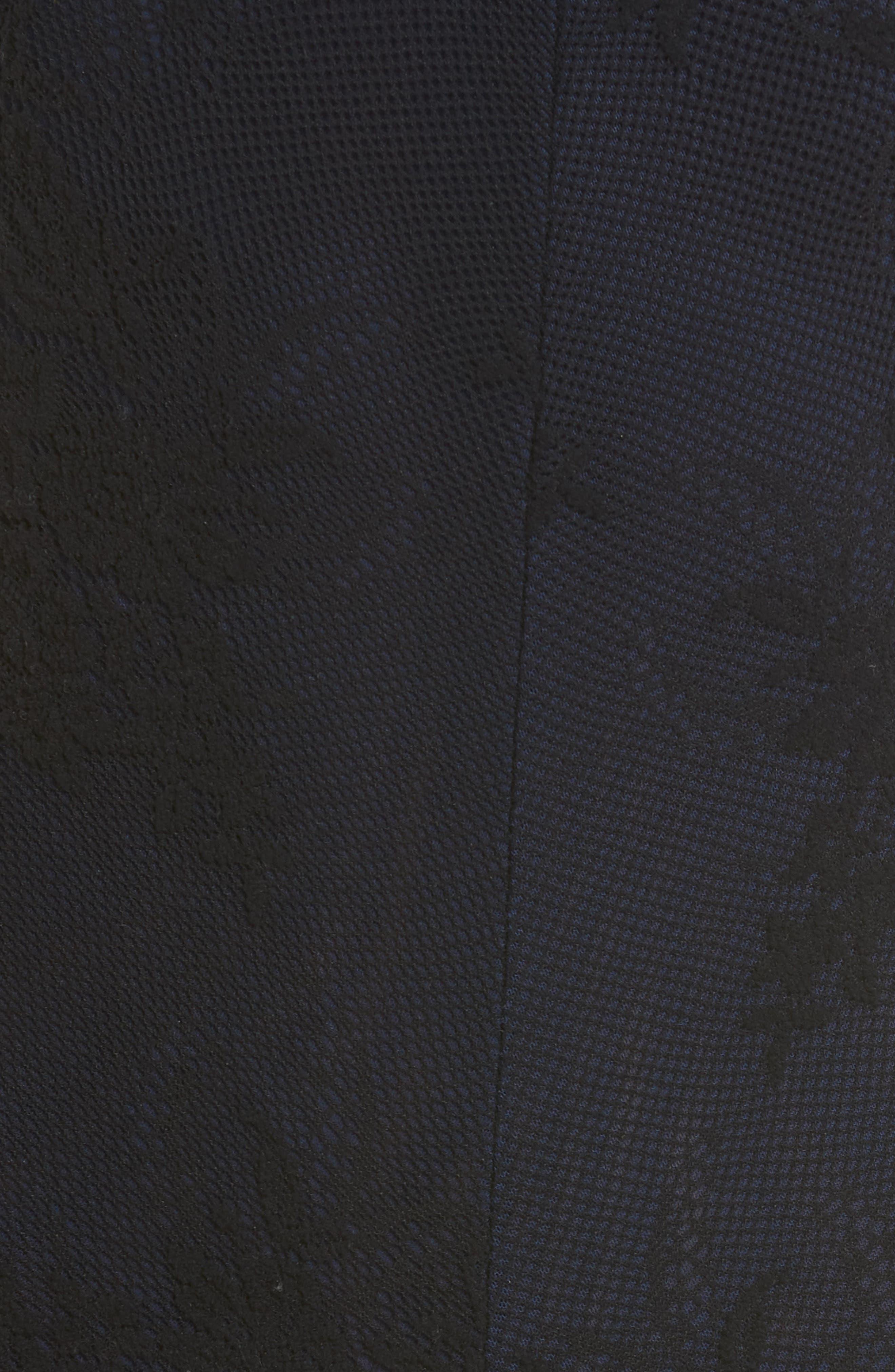 FREE PEOPLE, Miley Lace Bodysuit, Alternate thumbnail 5, color, BLACK