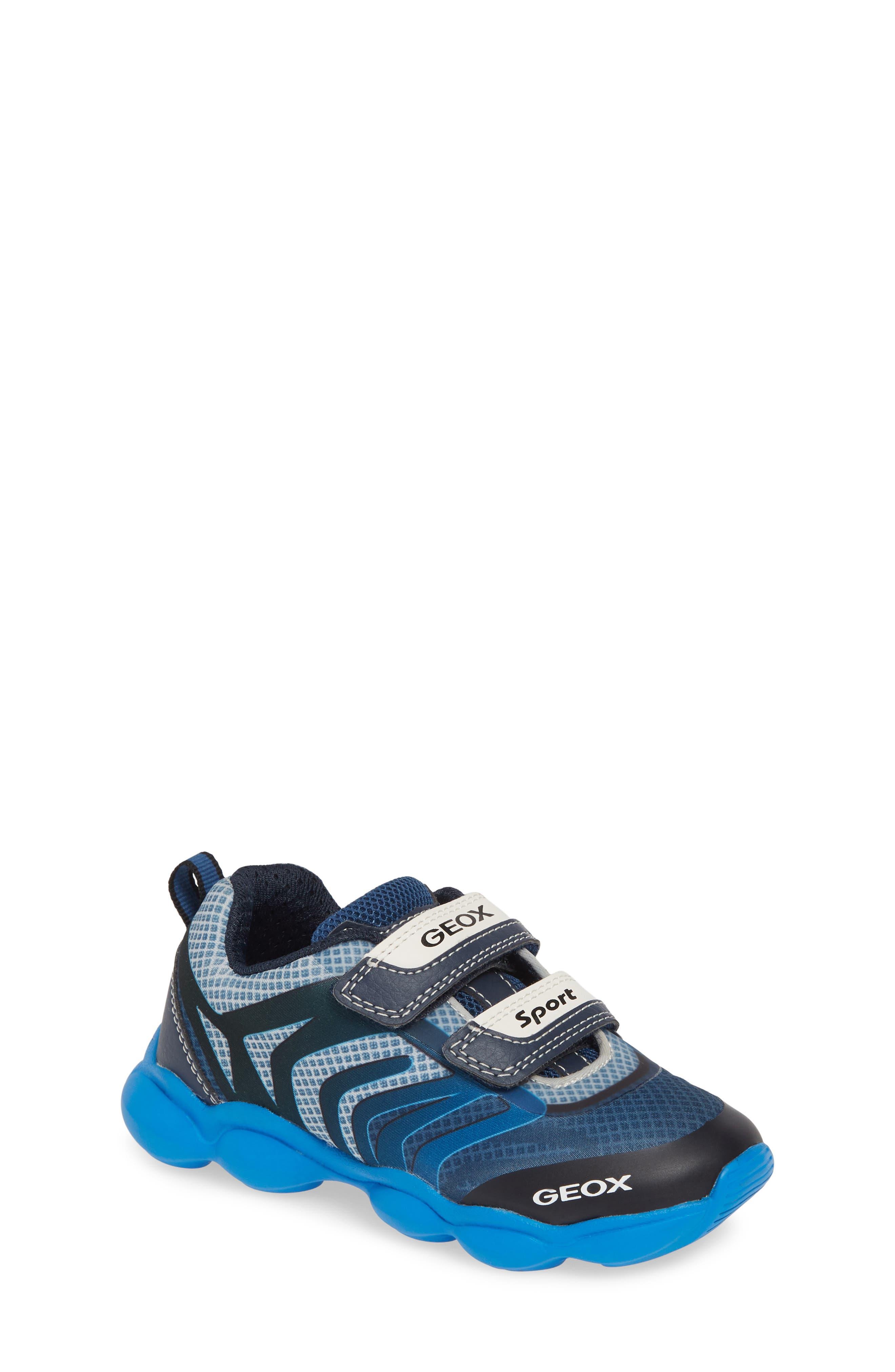 GEOX, J Munfrey Sneaker, Main thumbnail 1, color, NAVY/ AVIO