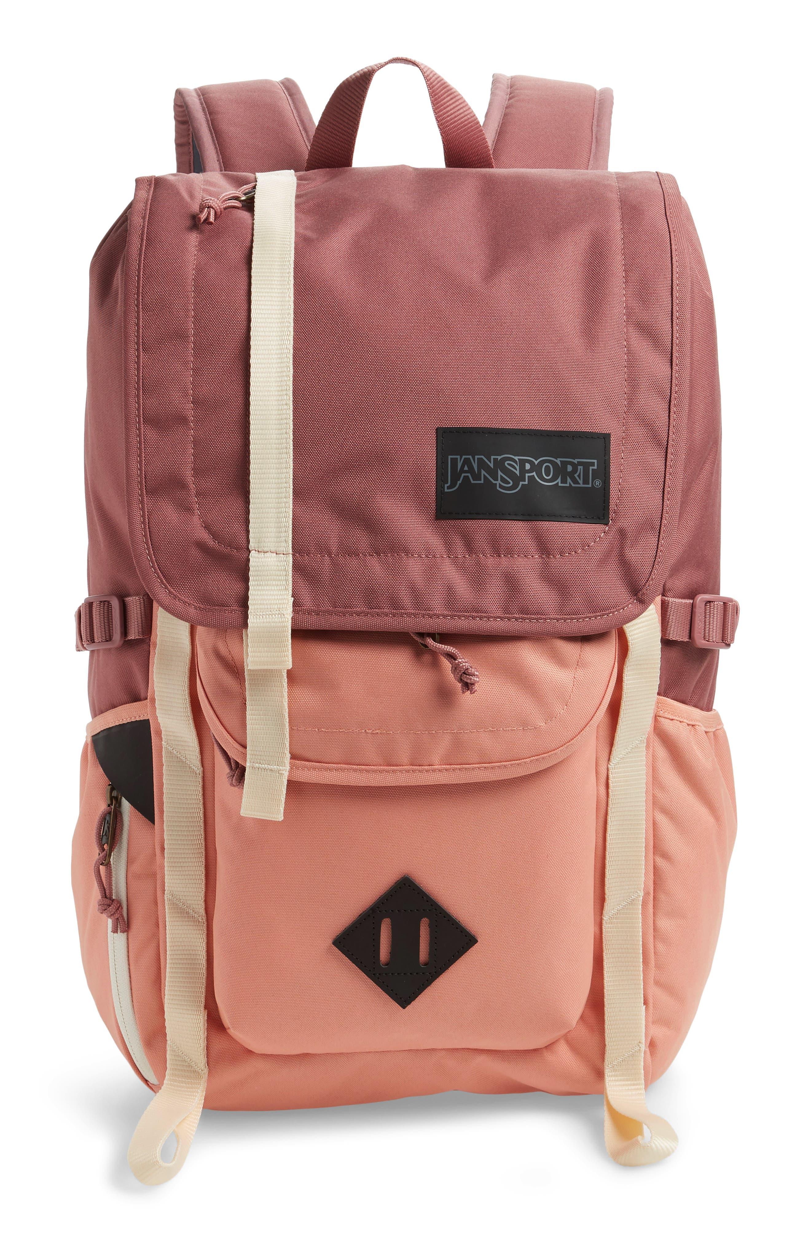 JANSPORT Hatchet Backpack, Main, color, MOCHA/ CLAY
