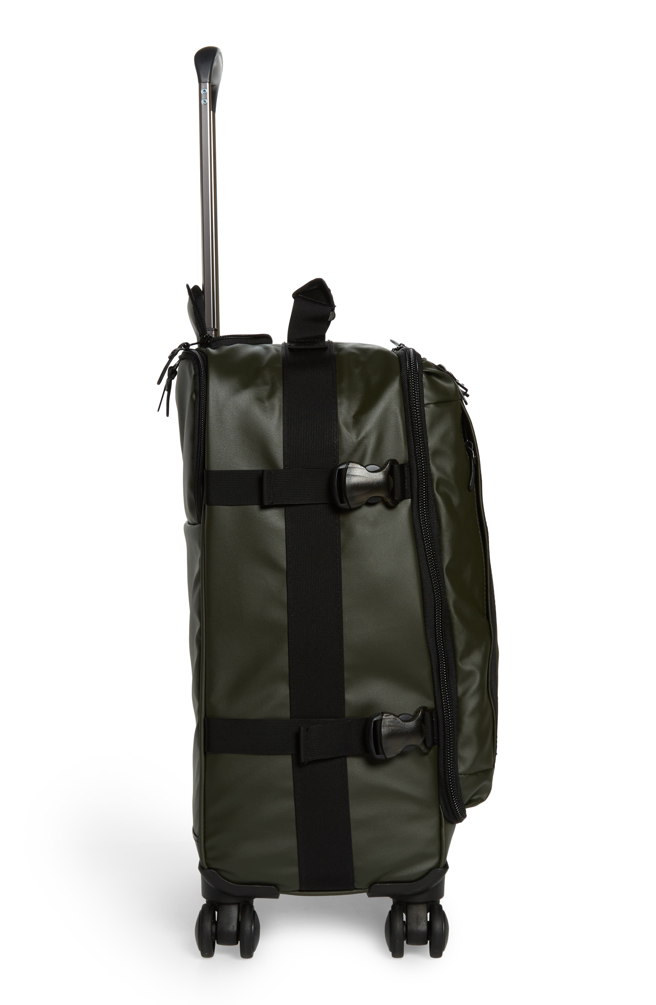 HIDEO WAKAMATSU, Veil Carry-On, Alternate thumbnail 3, color, ARMY GREEN