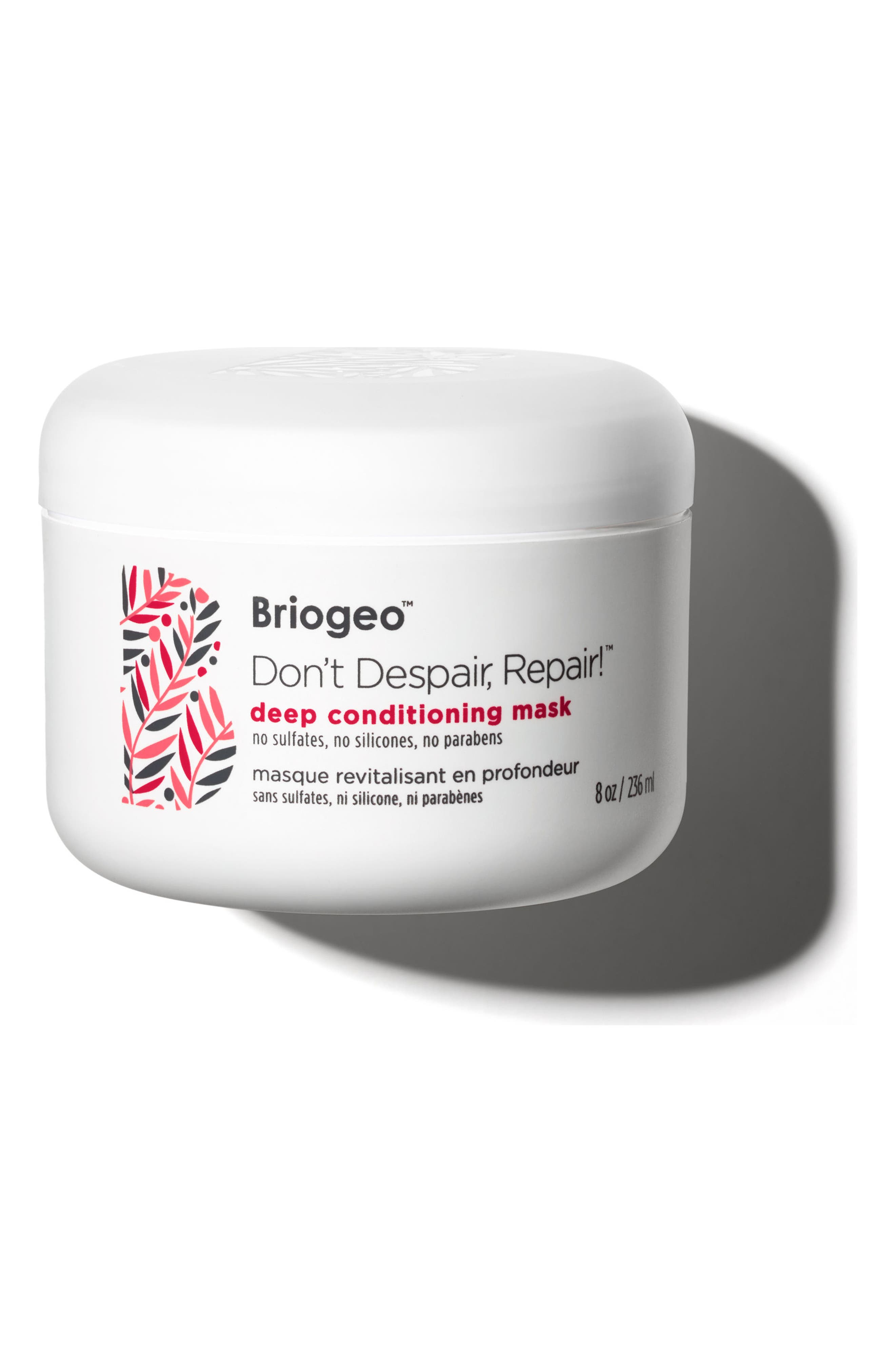 BRIOGEO, Don't Despair, Repair! Deep Conditioning Mask, Main thumbnail 1, color, NO COLOR