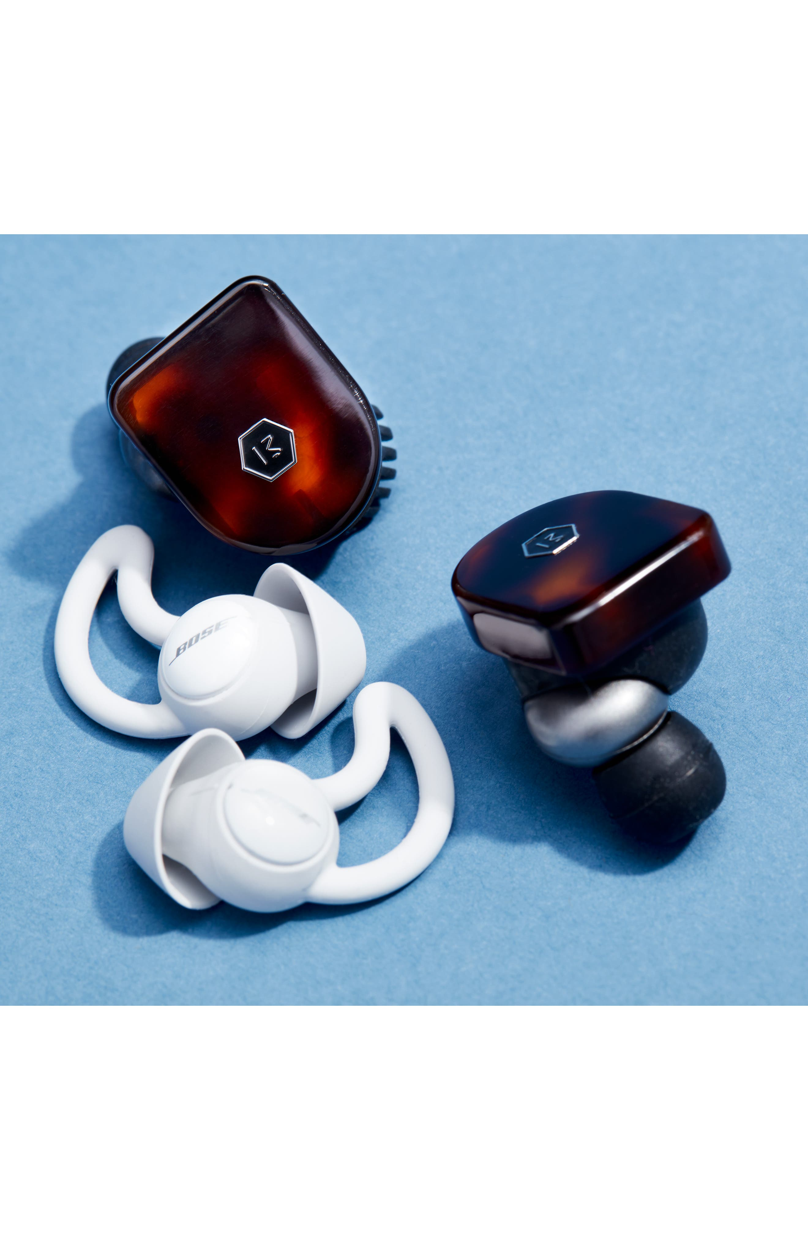BOSE<SUP>®</SUP>, Noise Masking Sleepbuds, Alternate thumbnail 12, color, WHITE AND SILVER