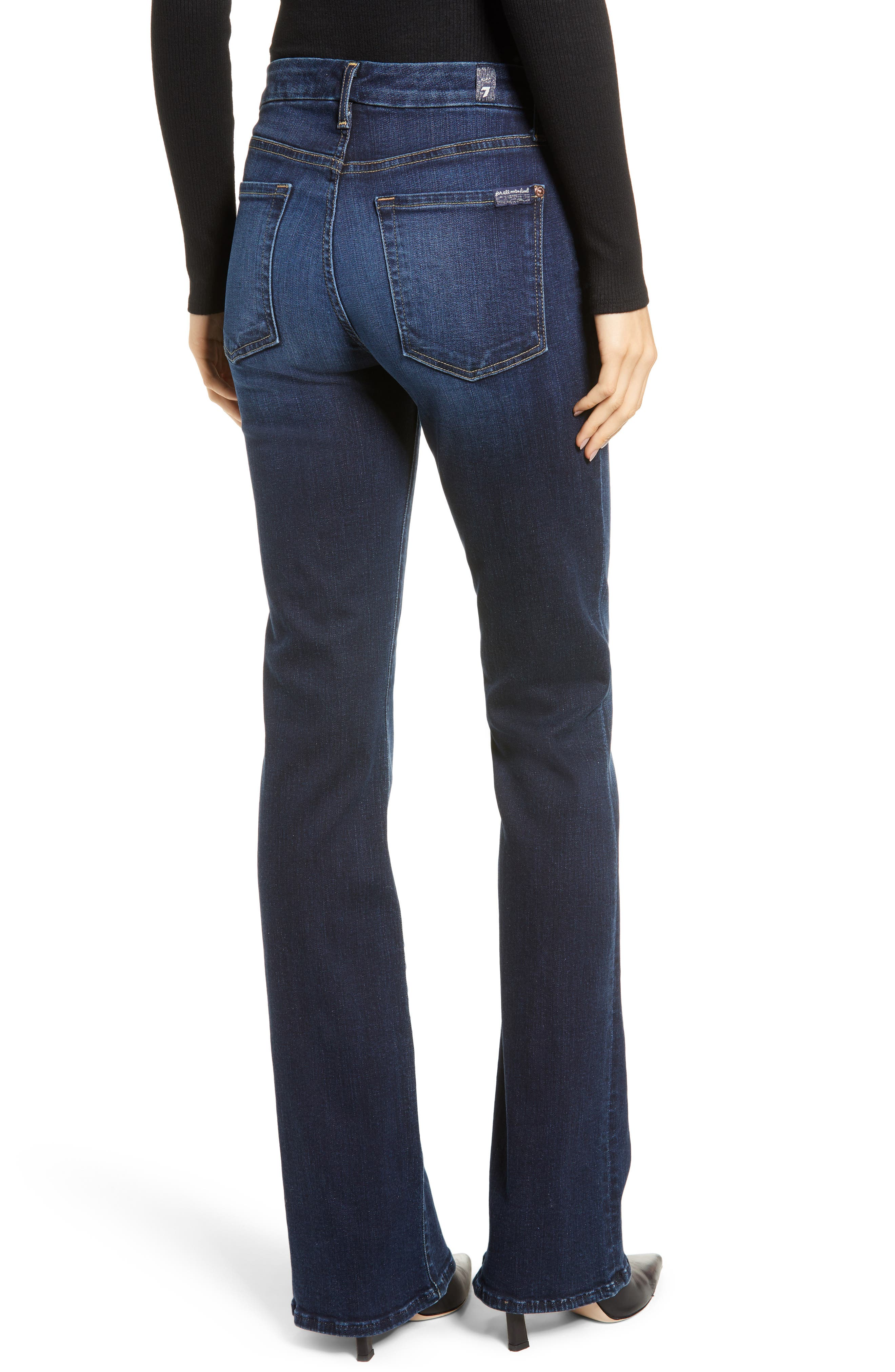 7 FOR ALL MANKIND<SUP>®</SUP>, b(air) Kimmie Bootcut Jeans, Alternate thumbnail 2, color, AUTHENTIC FATE