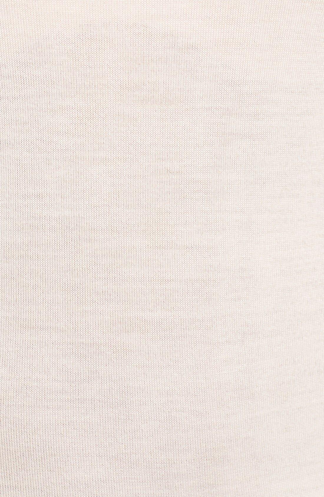 BOSS, 'Furana' Sleeveless Wool Shell, Alternate thumbnail 4, color, 684