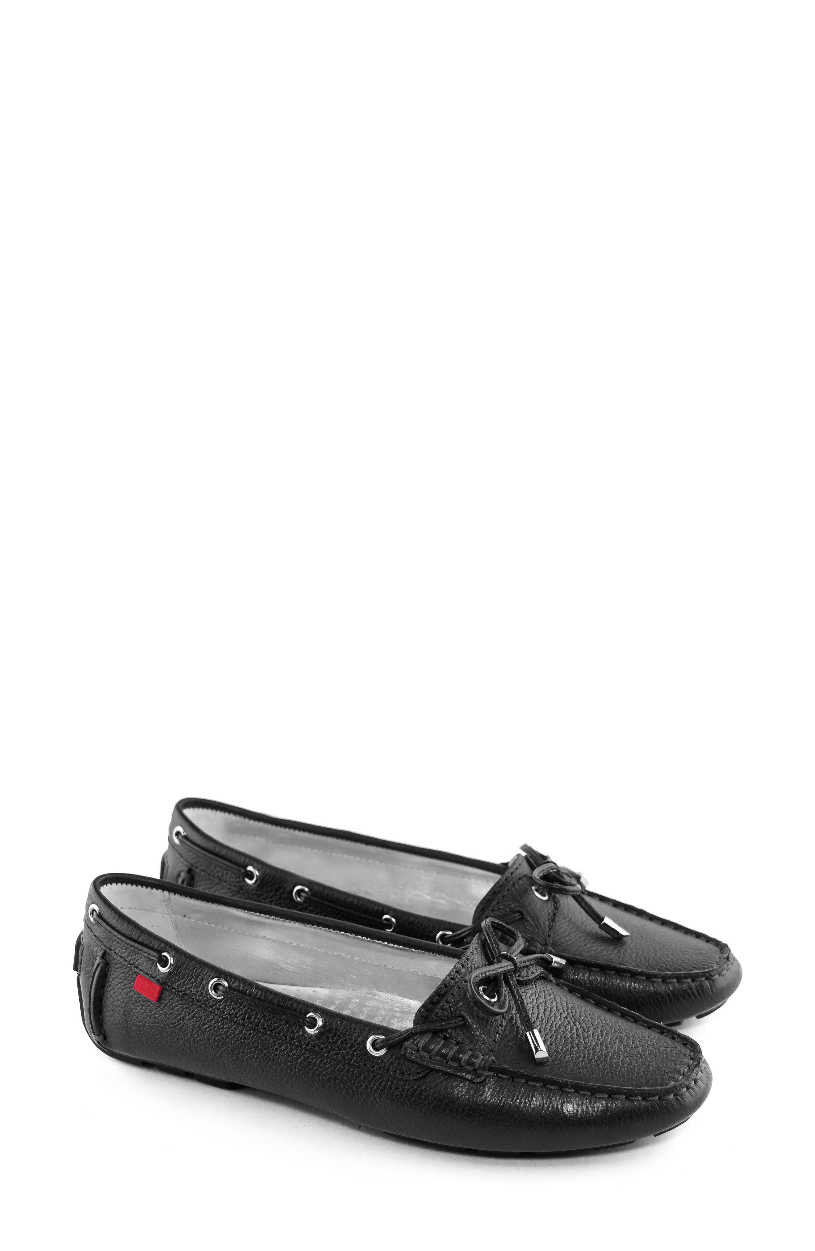 MARC JOSEPH NEW YORK, Rockaway Loafer, Alternate thumbnail 6, color, BLACK LEATHER