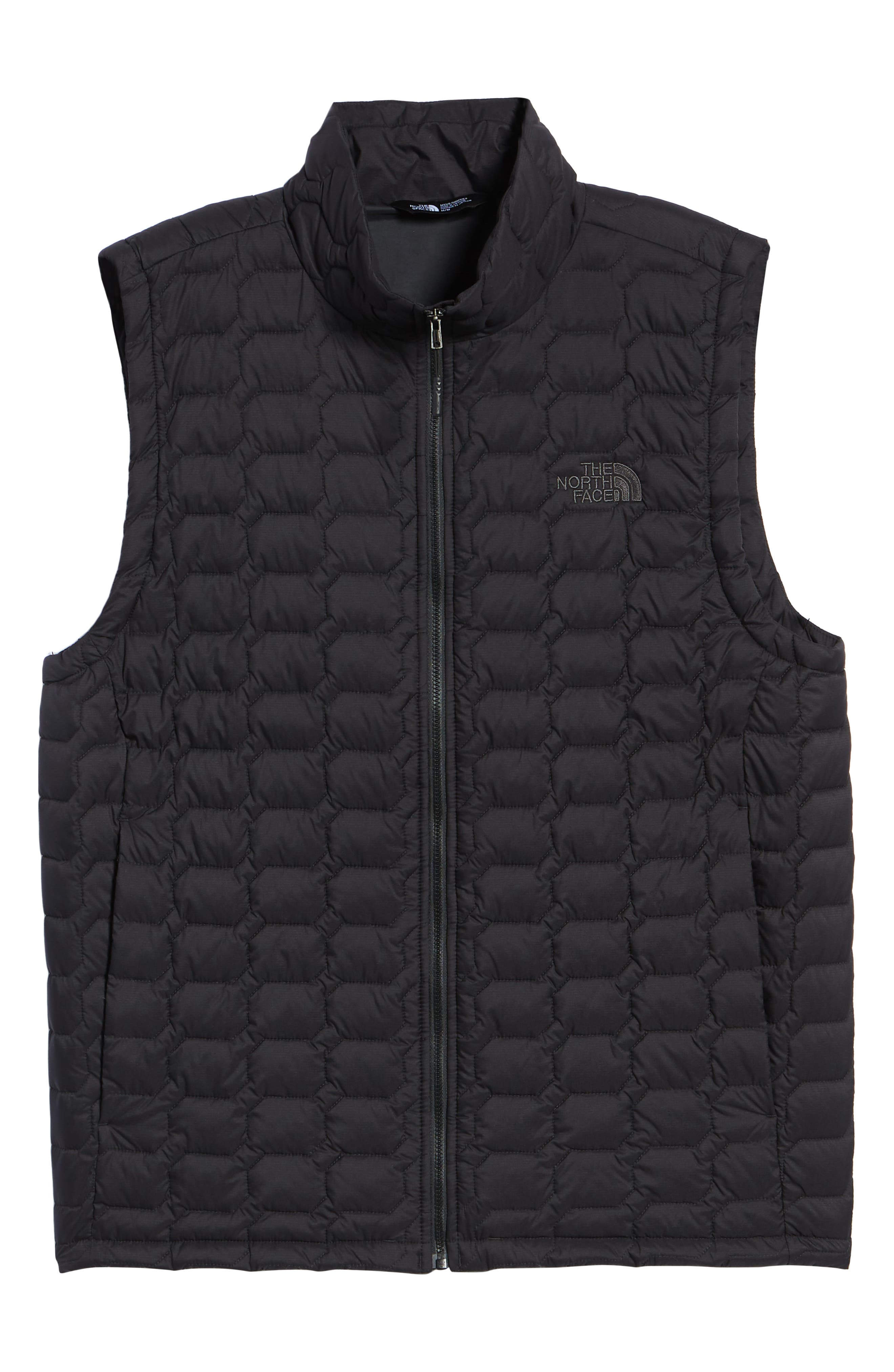 THE NORTH FACE, Thermoball<sup>®</sup> PrimaLoft<sup>®</sup> Vest, Alternate thumbnail 6, color, TNF BLACK MATTE