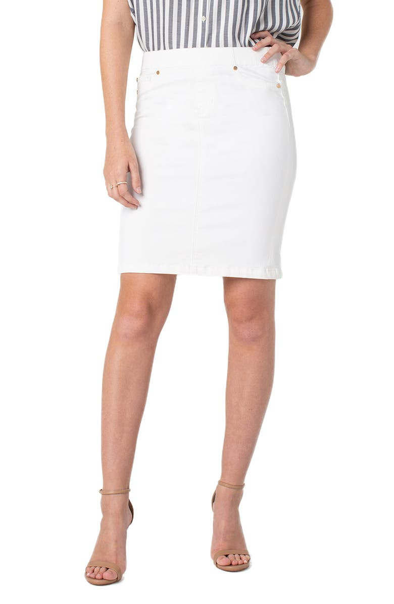 Liverpool Skirts PULL-ON PENCIL SKIRT