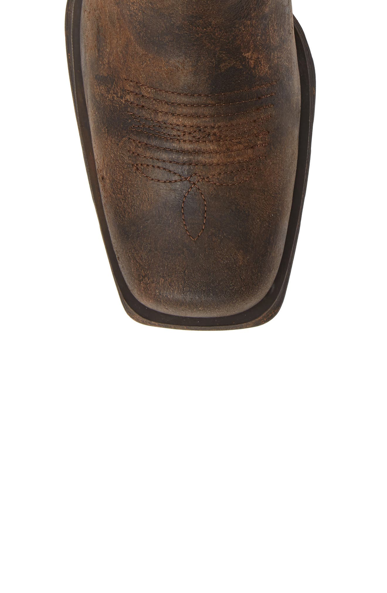 ARIAT, Rambler Boot, Alternate thumbnail 5, color, ANTIQUE GREY LEATHER