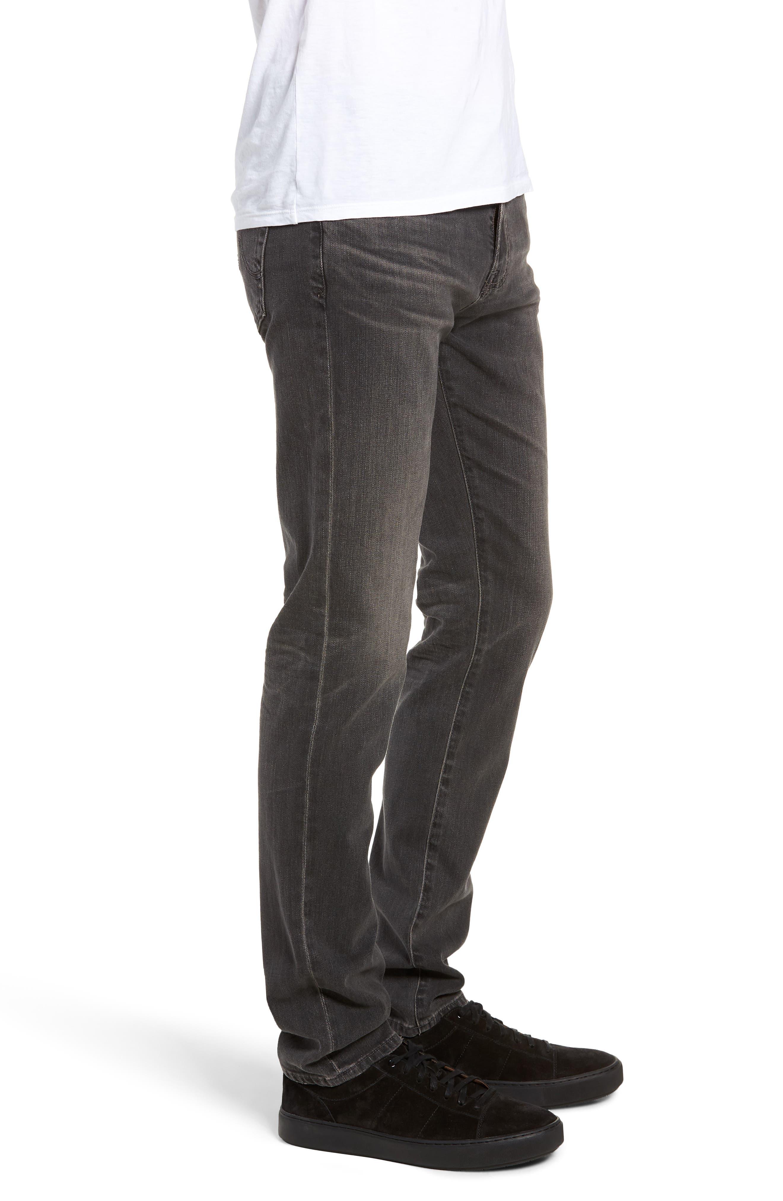 AG, Dylan Skinny Fit Jeans, Alternate thumbnail 3, color, 014