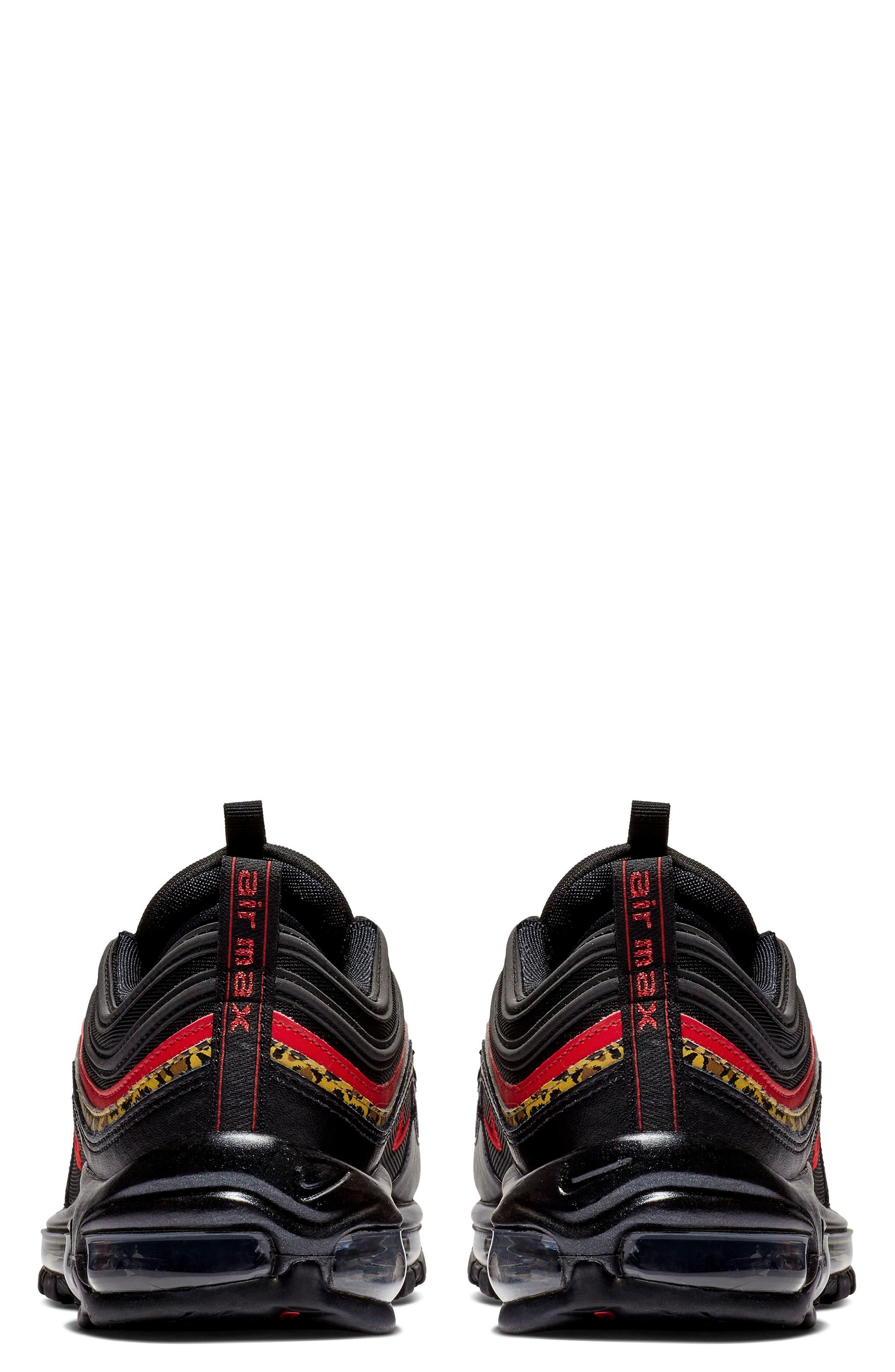 NIKE, Air Max 97 Sneaker, Alternate thumbnail 2, color, 001
