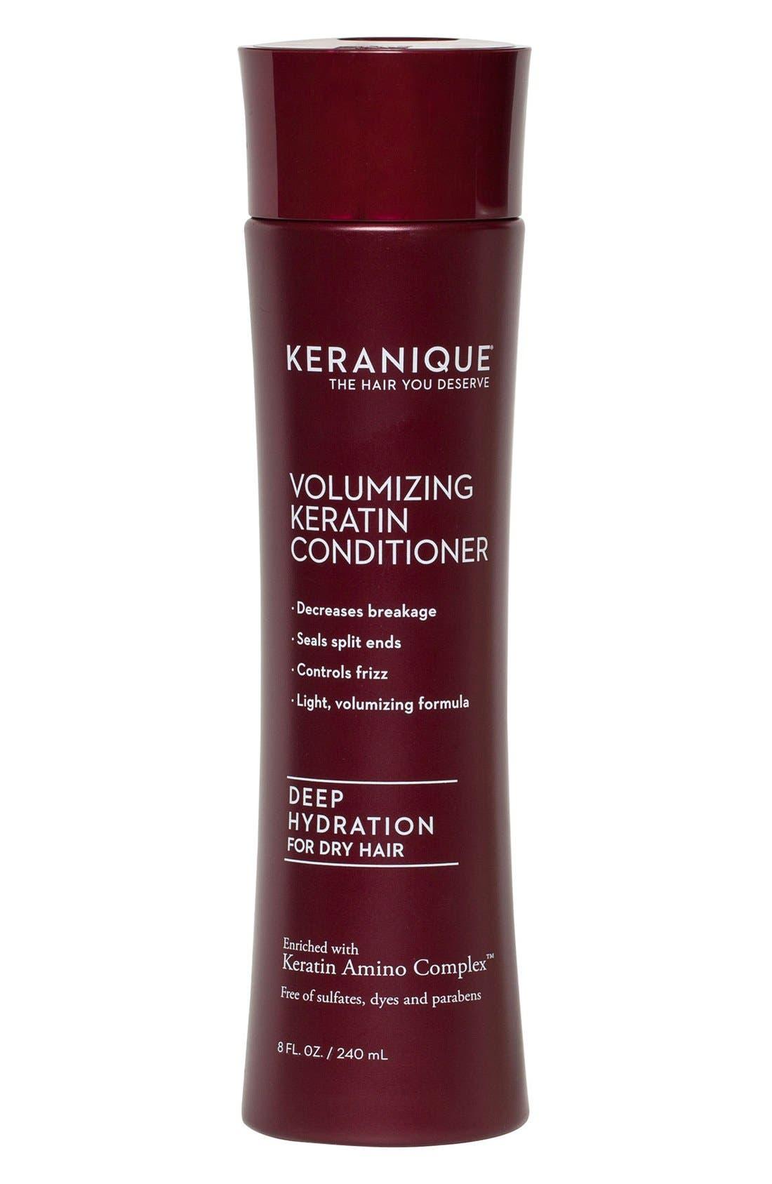 KERANIQUE, Intensive Hydrating Conditioner, Main thumbnail 1, color, NO COLOR