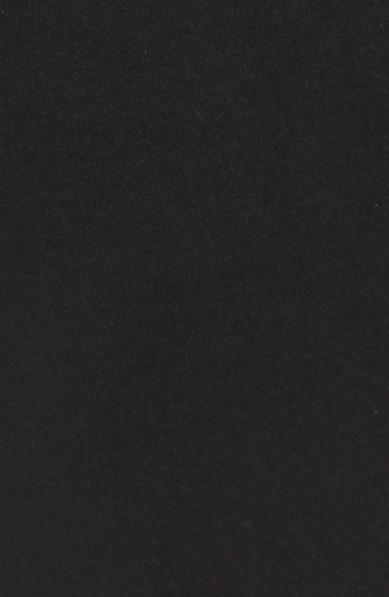 ALO, Urban Moto Sweatpants, Alternate thumbnail 6, color, BLACK