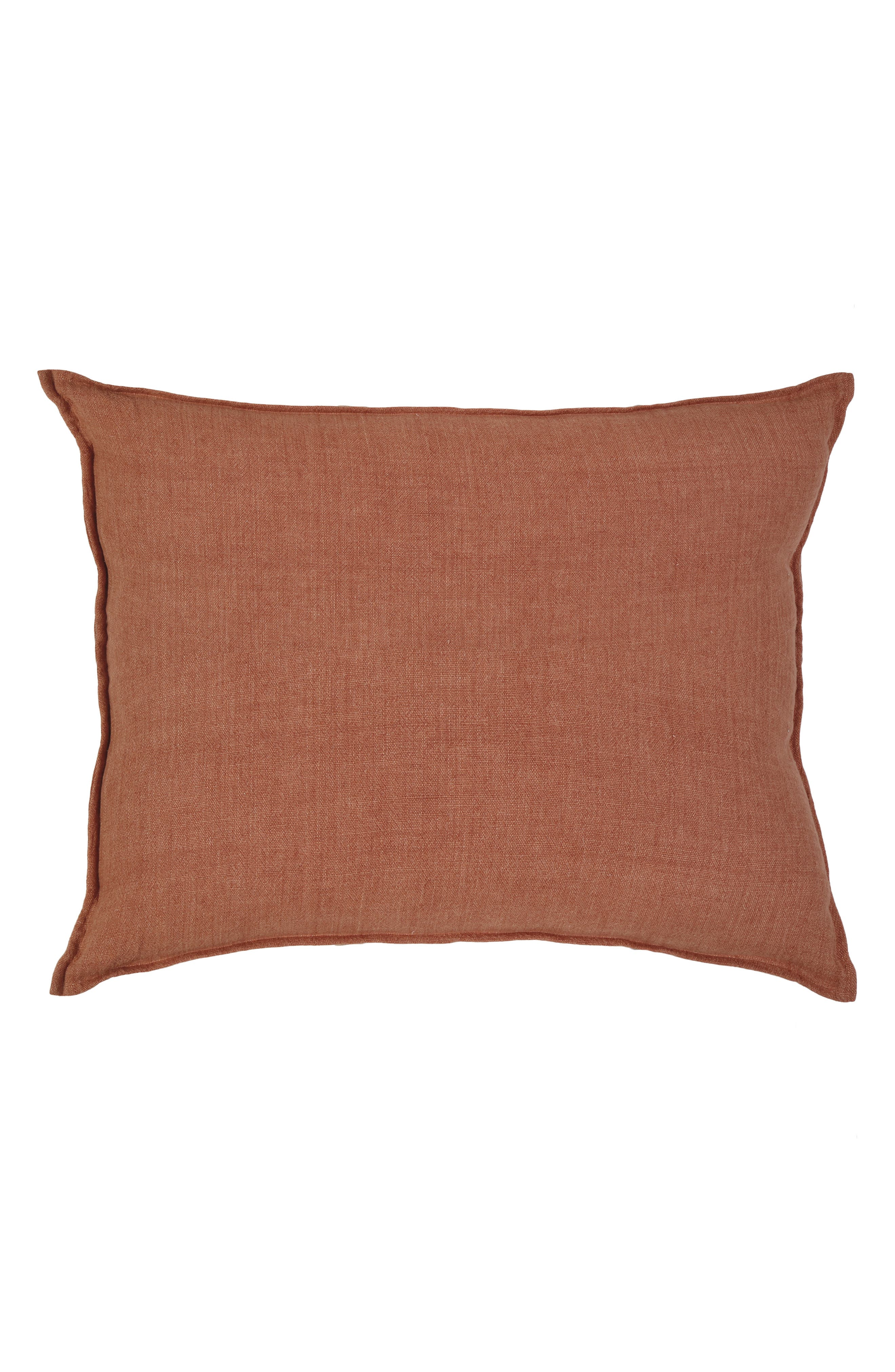 POM POM AT HOME Montauk Accent Pillow, Main, color, TERRA COTTA