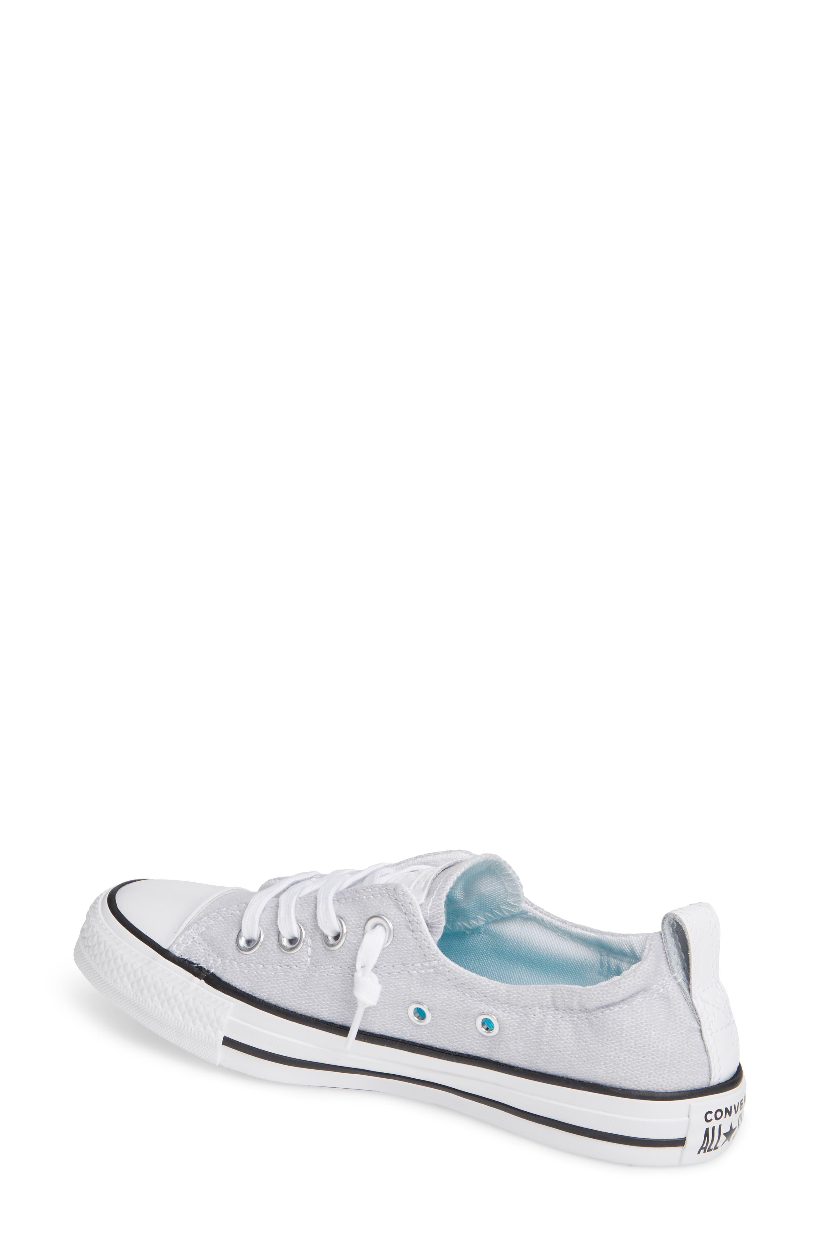 CONVERSE, Chuck Taylor<sup>®</sup> 'Shoreline' Sneaker, Alternate thumbnail 2, color, WHITE