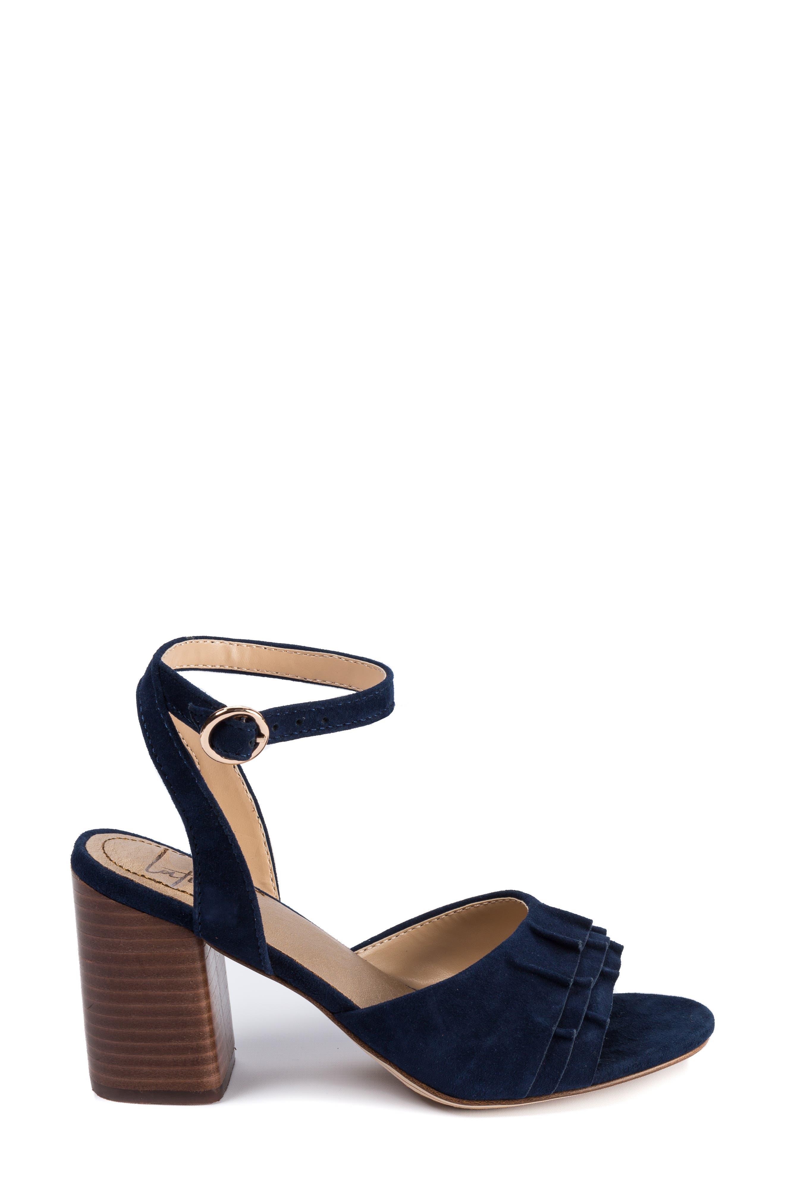 LATIGO, Idelle Ankle Strap Sandal, Alternate thumbnail 3, color, 410