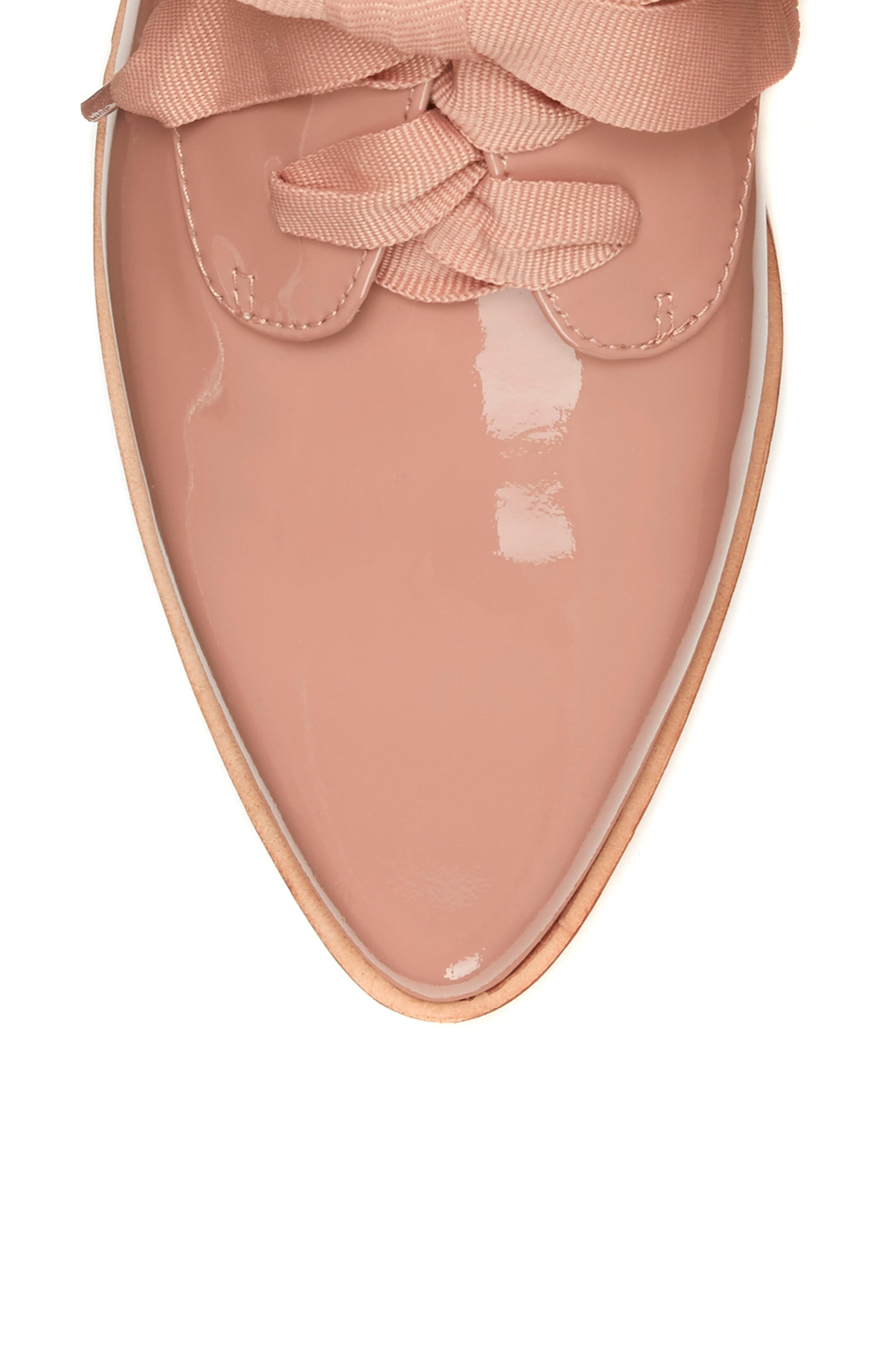 LOUISE ET CIE, Adwin Almond Toe Oxford, Alternate thumbnail 8, color, FOUNDATION PATENT