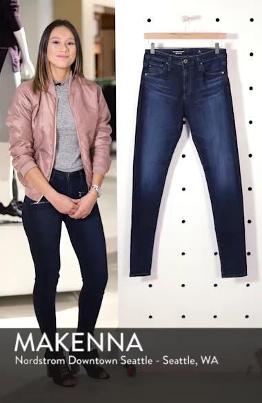 'The Farrah' High Rise Skinny Jeans, sales video thumbnail