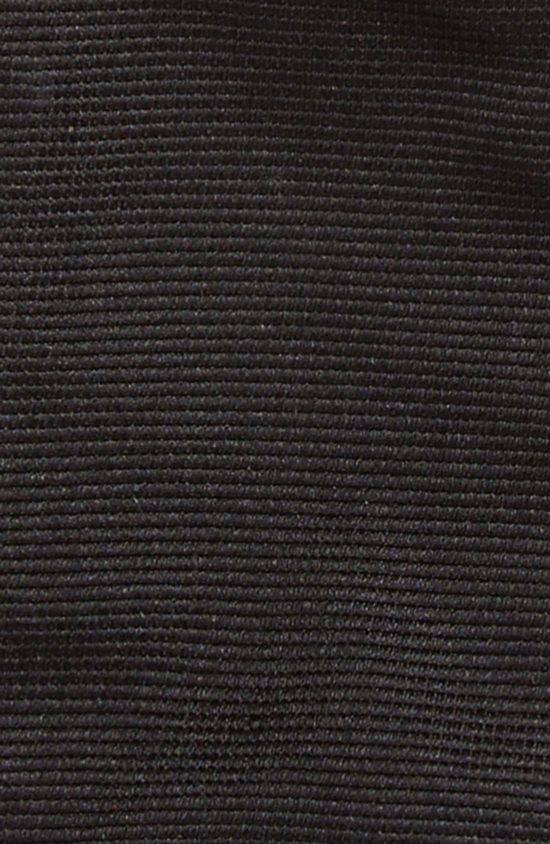 GITMAN, Silk Bow Tie, Alternate thumbnail 3, color, BLACK