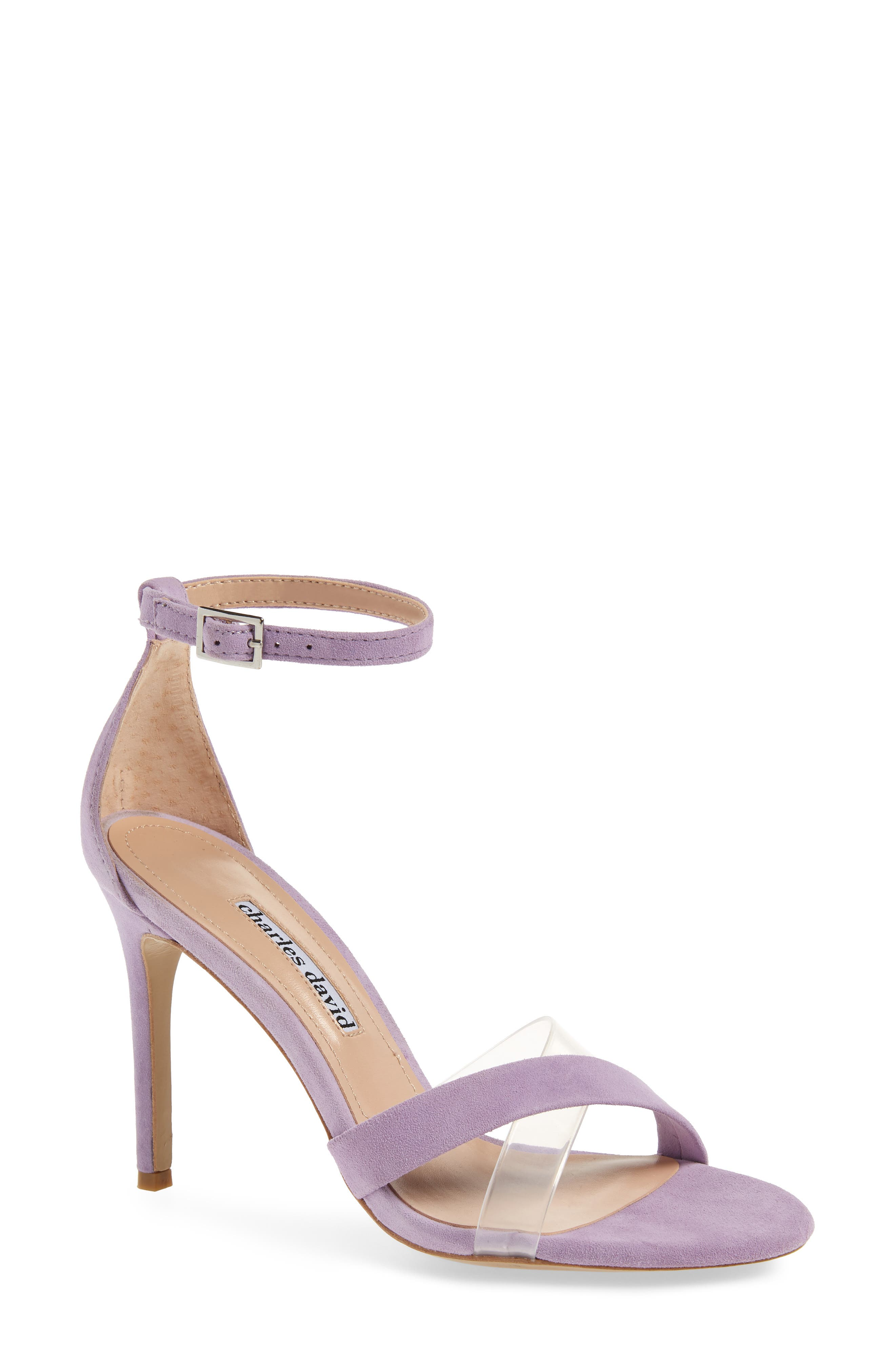 Charles David Courtney Sandal- Purple