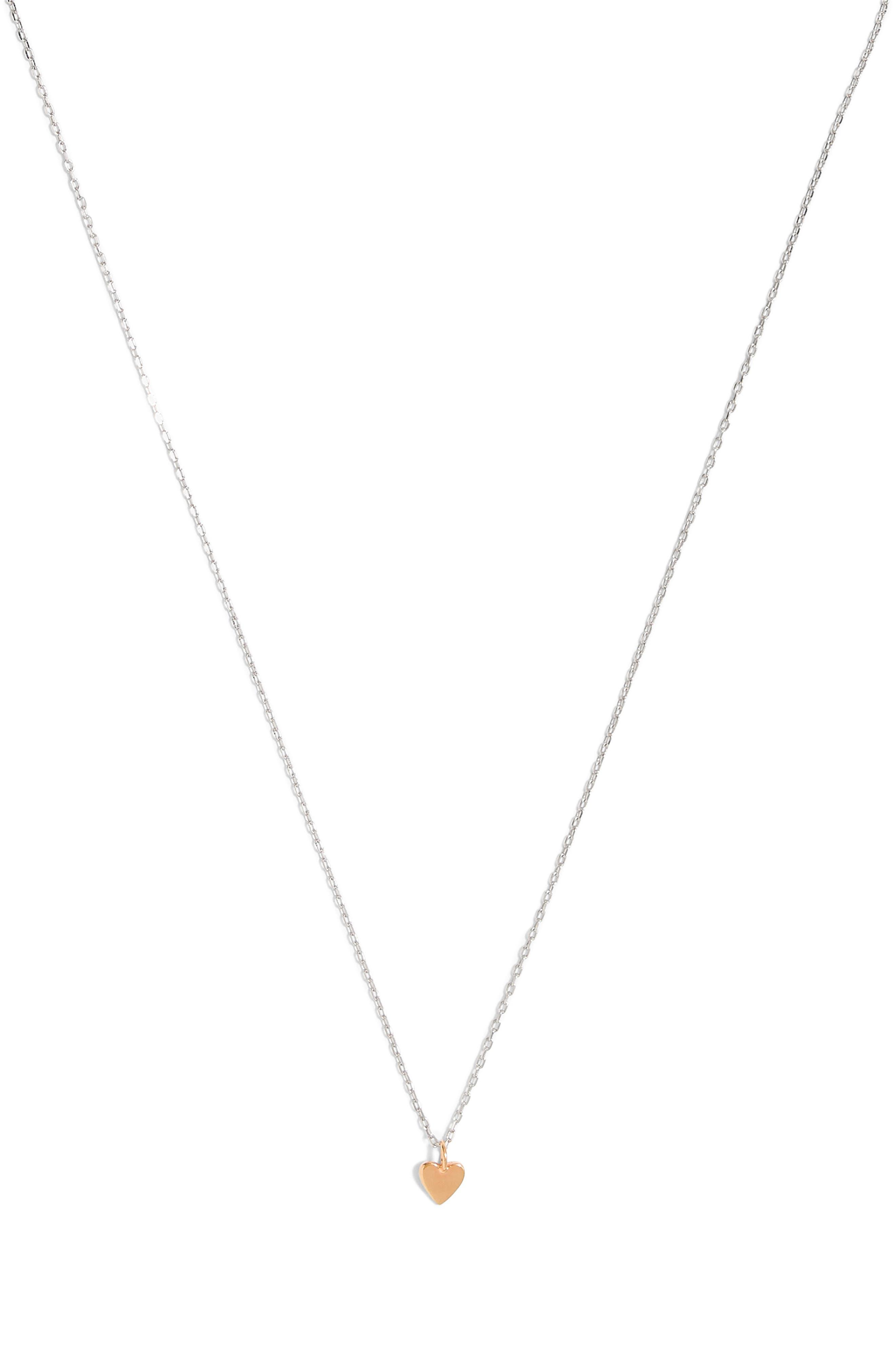 MADEWELL, Vermeil Pendant Necklace, Main thumbnail 1, color, 710