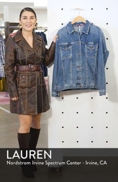 Ramona Denim Trucker Jacket, sales video thumbnail
