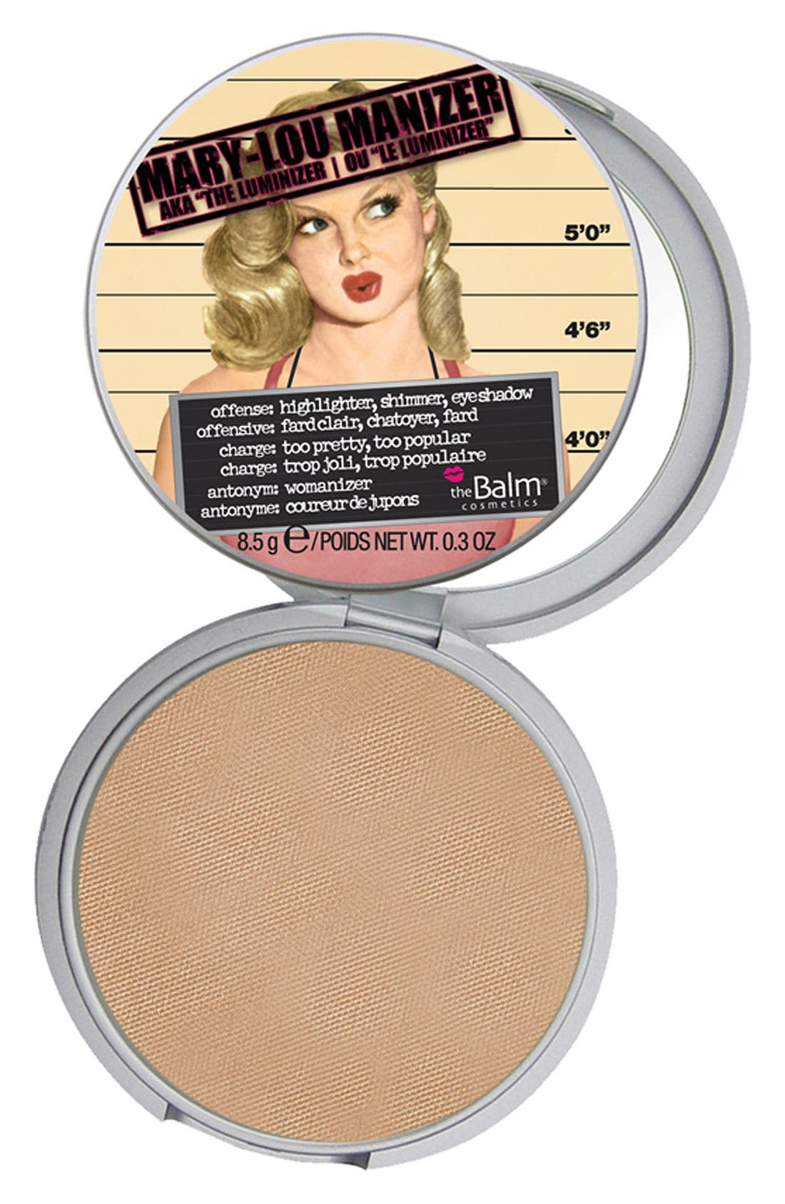 THEBALM<SUP>®</SUP>, 'Mary-Lou Manizer<sup>®</sup>' Highlighting Powder, Main thumbnail 1, color, 900