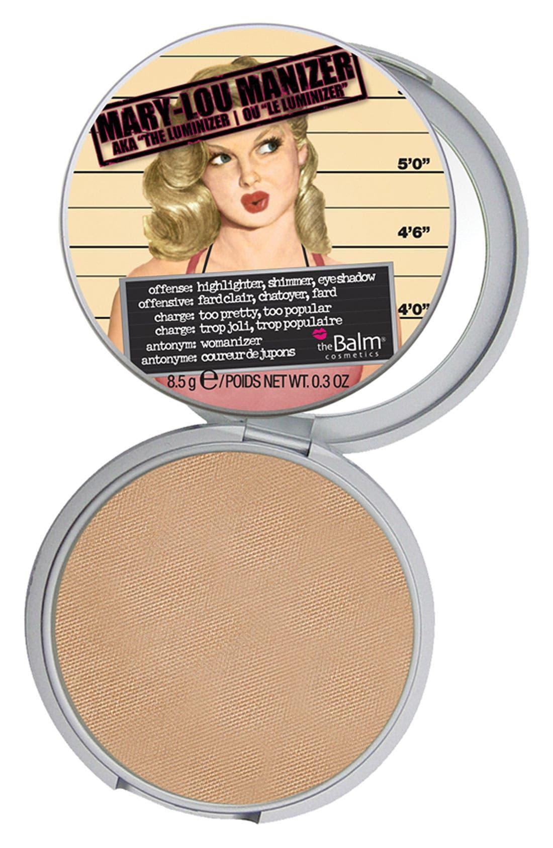 THEBALM<SUP>®</SUP> 'Mary-Lou Manizer<sup>®</sup>' Highlighting Powder, Main, color, 900