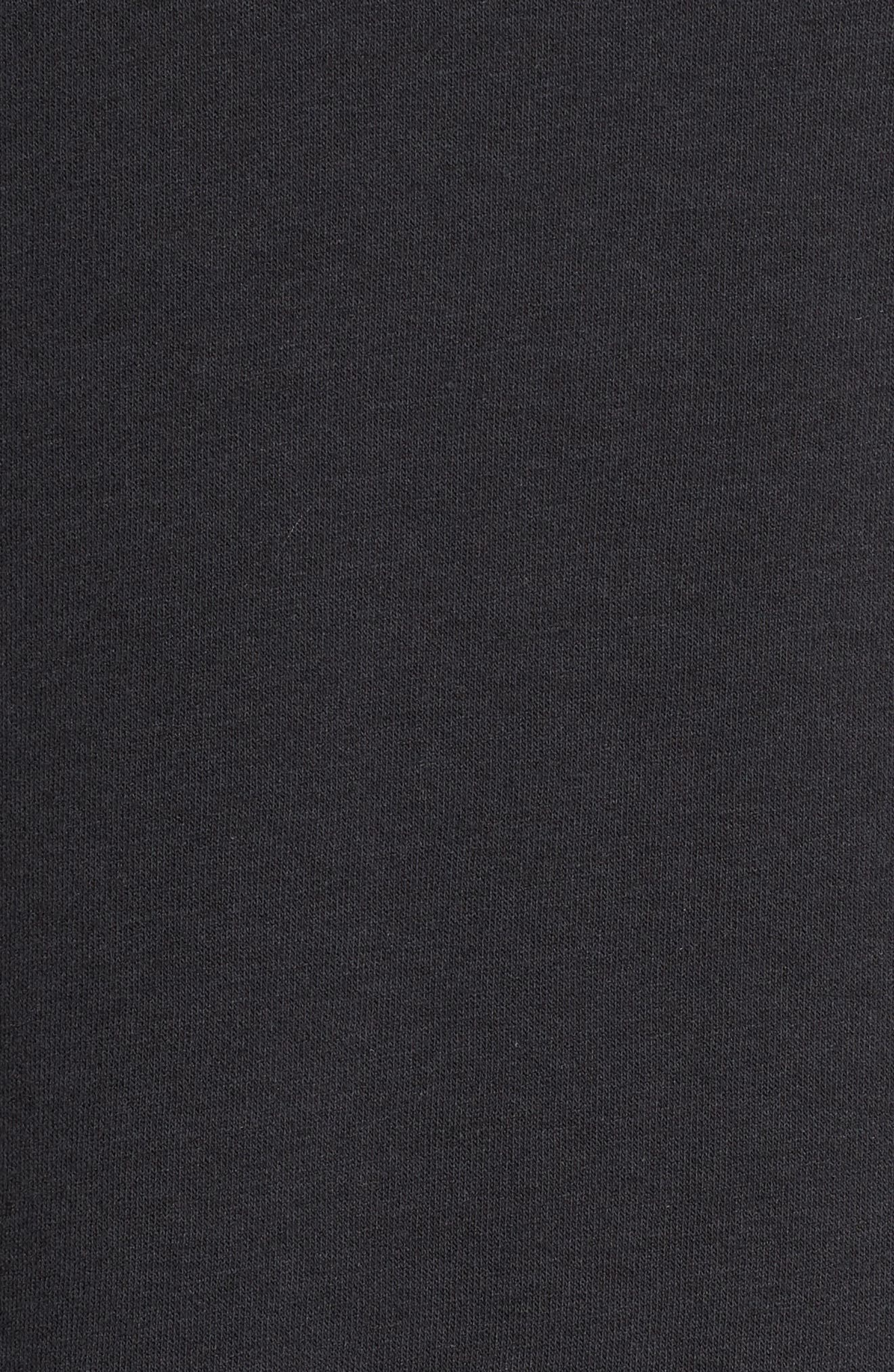 NIKE, Sportswear Rally Sweatshirt, Alternate thumbnail 6, color, 010