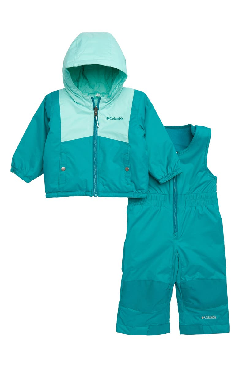 c6d5360e5 COLUMBIA Double Flake Waterproof Insulated Jacket & Bib Snowsuit, Main,  color, ...