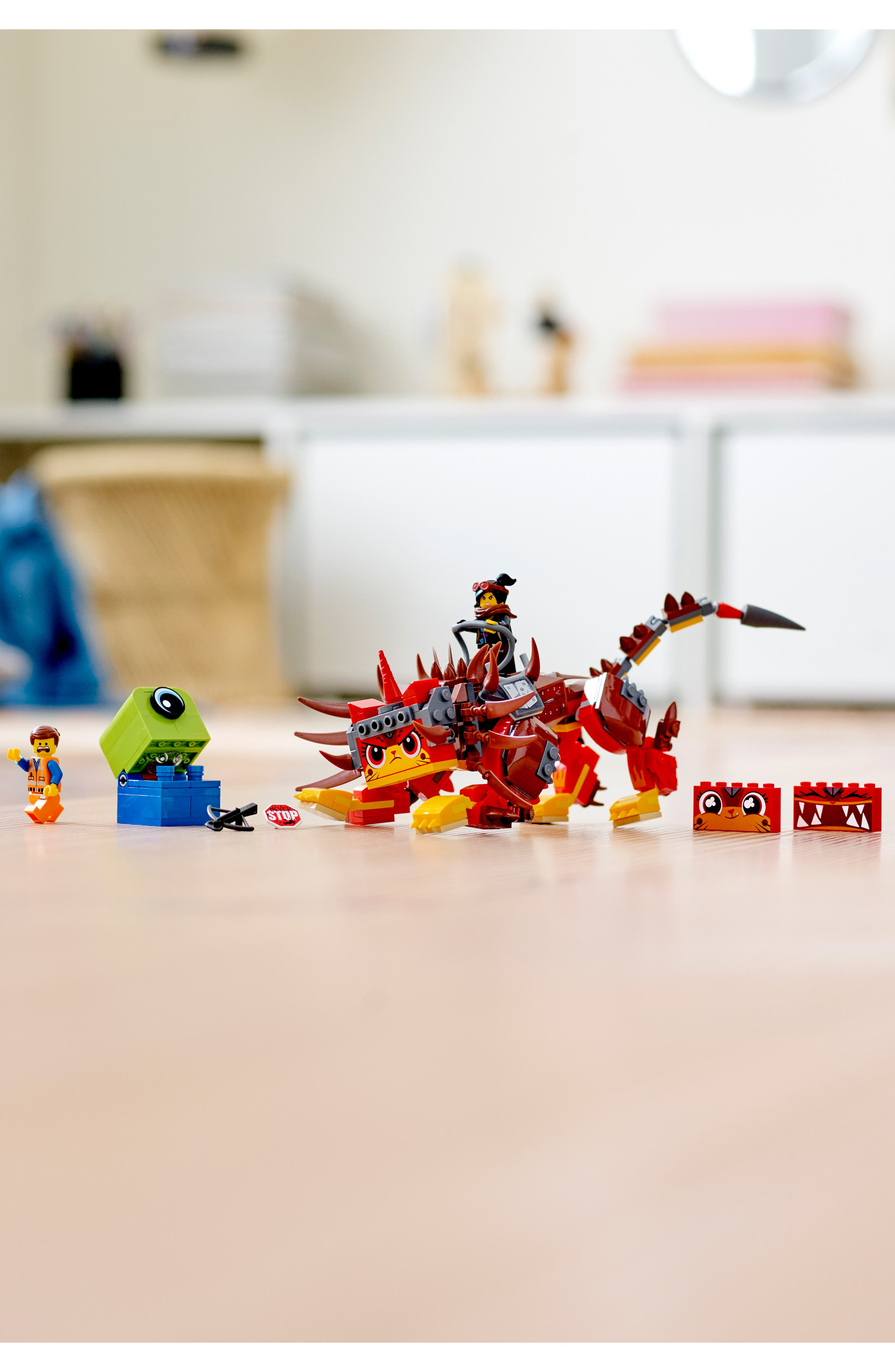 LEGO<SUP>®</SUP>, The LEGO<sup>®</sup> Movie 2 UItrakatty & Warrior Lucy Play Set - 70827, Alternate thumbnail 7, color, 960