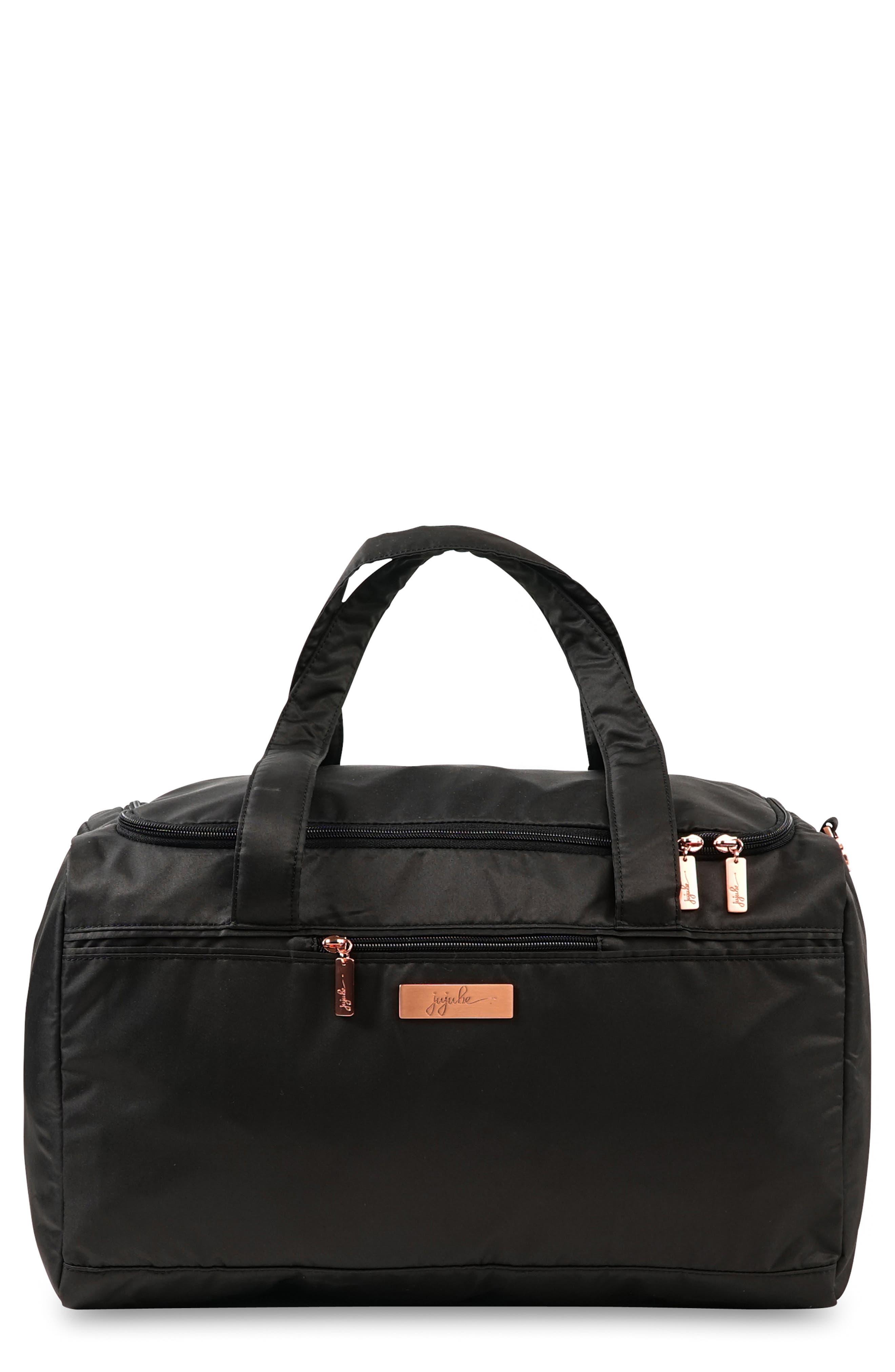JU-JU-BE Rose Starlet Travel Diaper Bag, Main, color, KNIGHT ROSE
