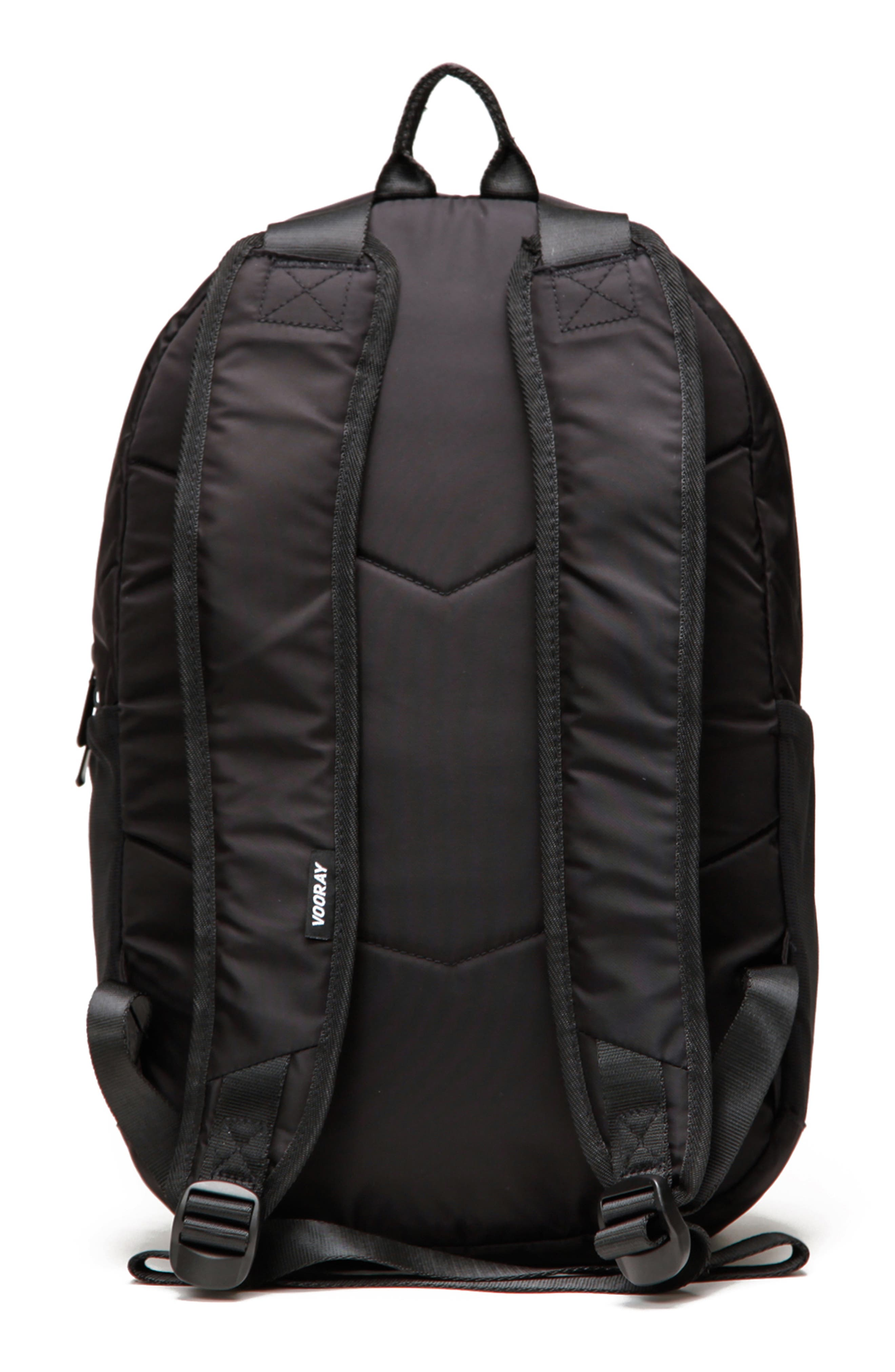 VOORAY, Ace Backpack, Alternate thumbnail 2, color, BLACK NYLON