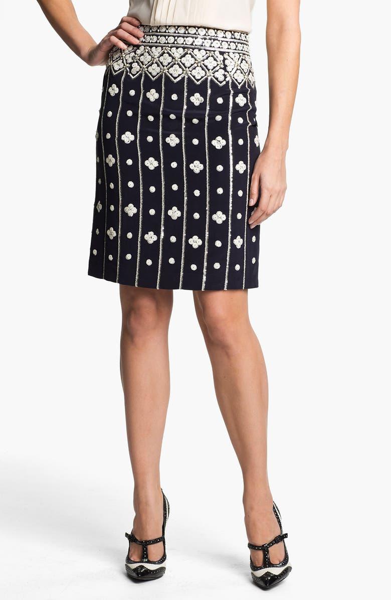 Tory Burch Amber Sequin Skirt Nordstrom