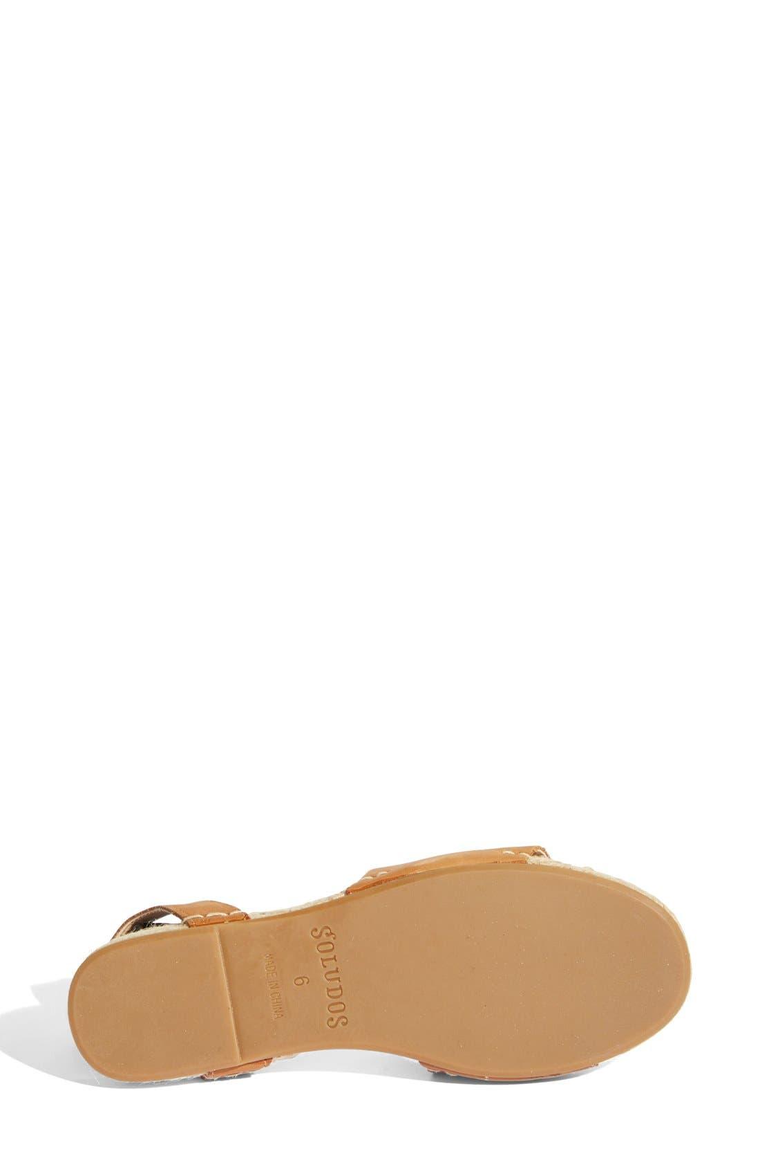 SOLUDOS, Slingback Sandal, Alternate thumbnail 3, color, 211