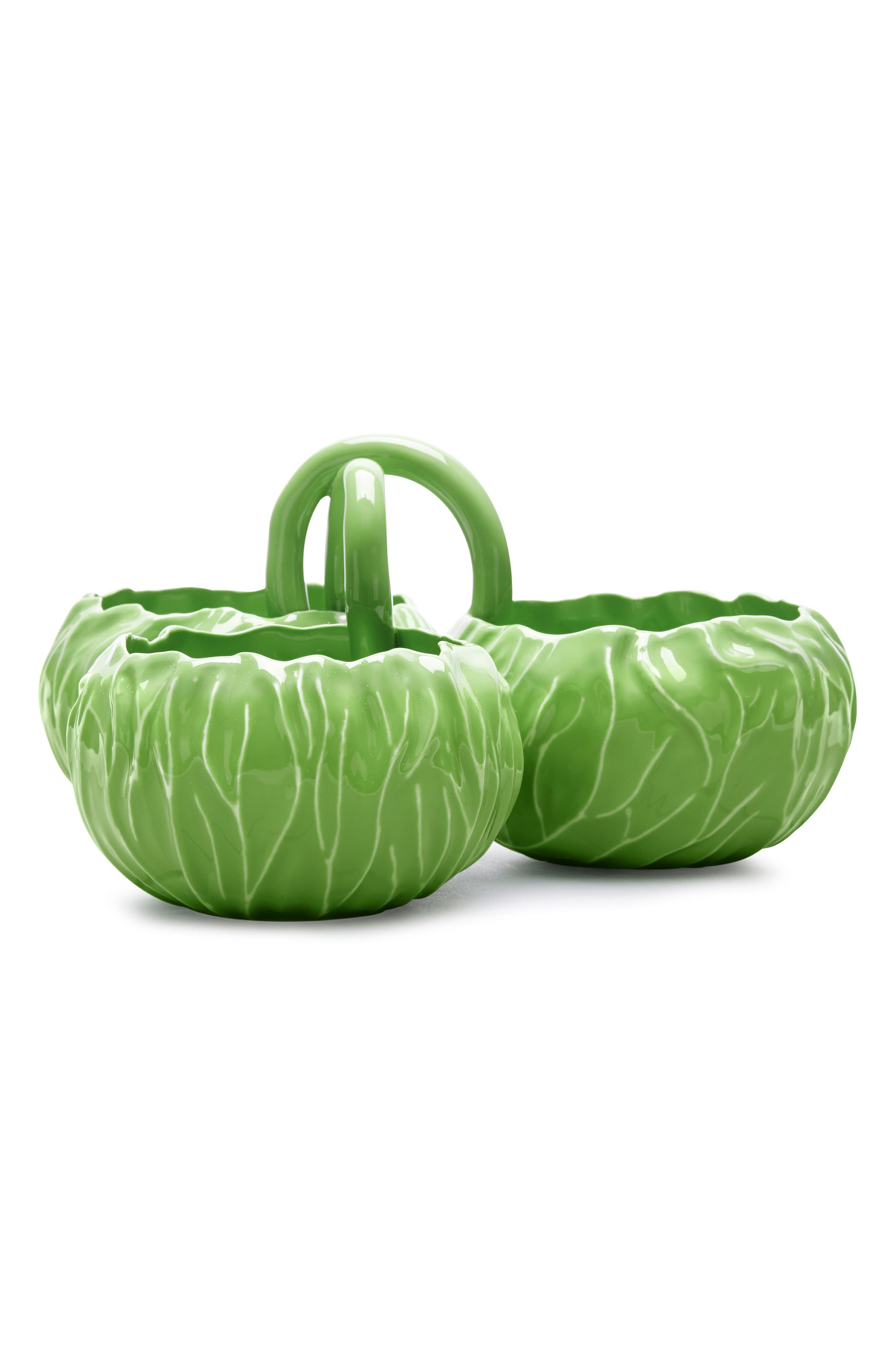 TORY BURCH, Lettuce Ware Hors d'Oeuvres Bowl, Main thumbnail 1, color, 307