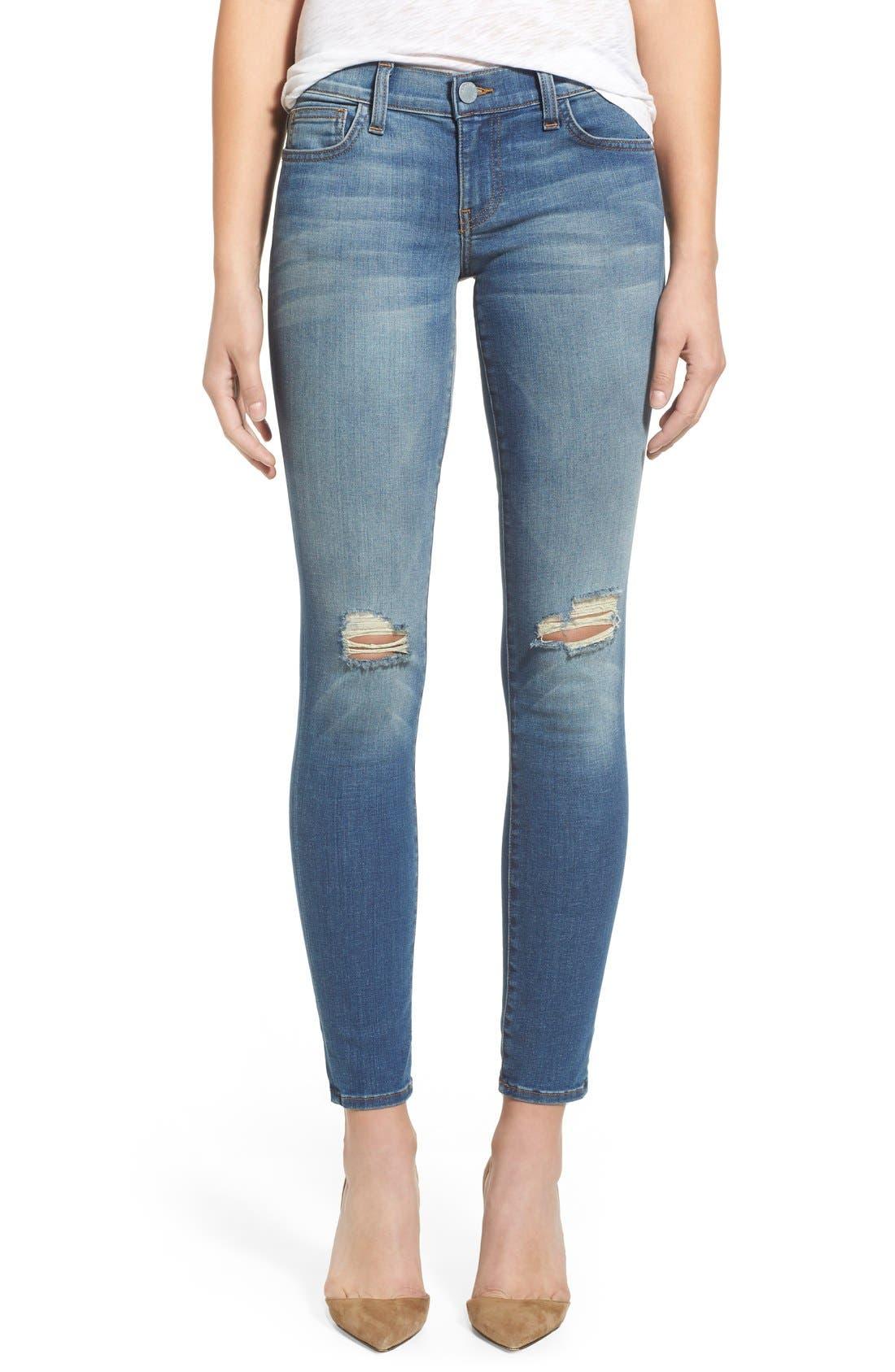 REBECCA MINKOFF, 'Jane' Skinny Jeans, Main thumbnail 1, color, 400