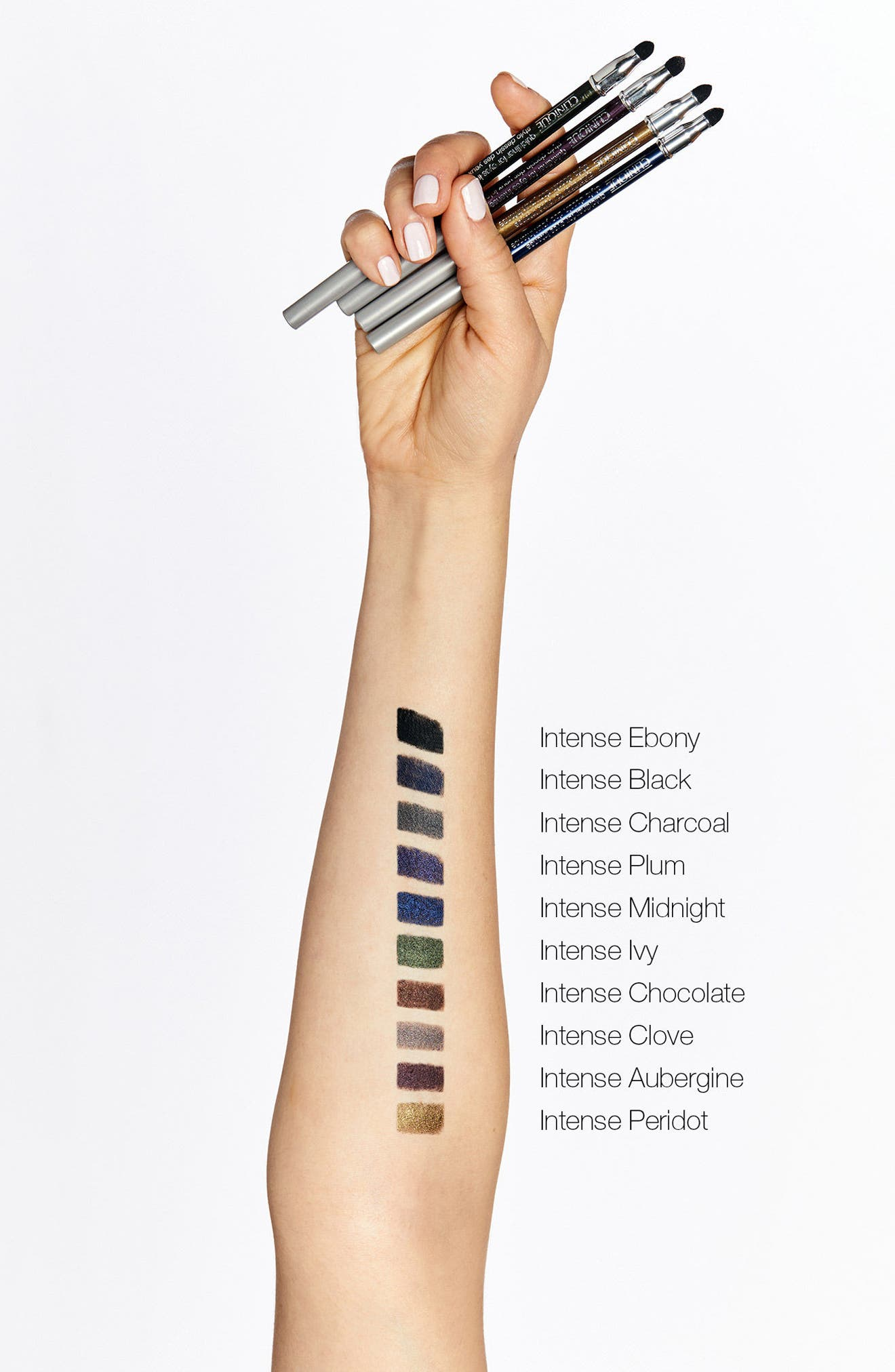 CLINIQUE, Quickliner for Eyes Intense Eyeliner Pencil, Alternate thumbnail 2, color, INTENSE CHARCOAL